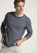 Sweatshirt aus Hanf mit Bio-Baumwolle