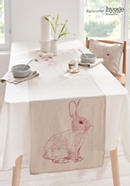 Tischläufer Jänis aus reinem Leinen