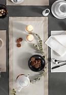 Tischläufer aus reinem Hessen-Leinen