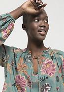 Tunika-Bluse aus reiner Bio-Baumwolle