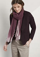 Unisex Schal aus reiner Schurwolle