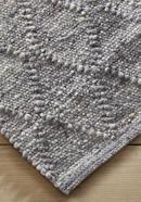 Zopfmuster-Teppich Rhönschaf