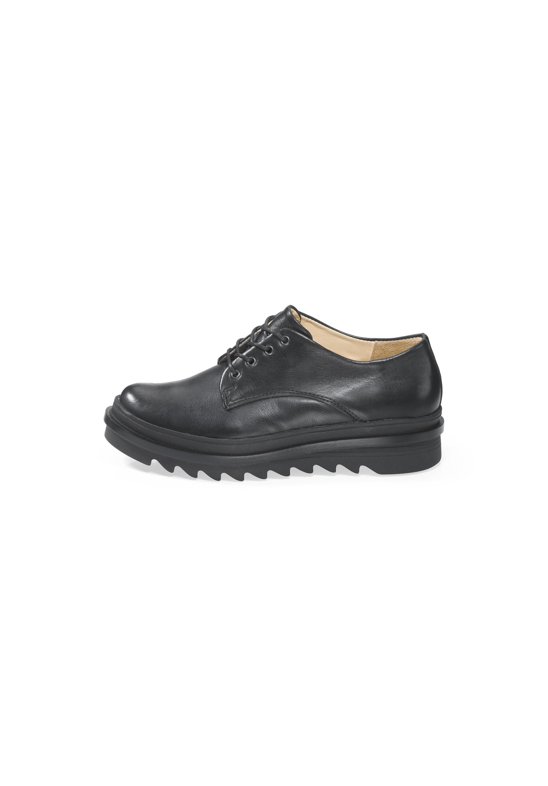 Damen Derby Schuh aus Leder von hessnatur