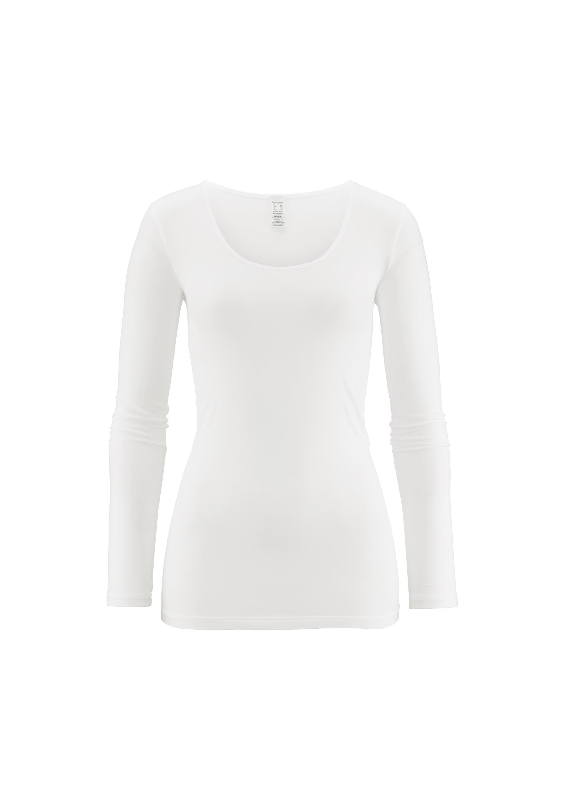 678469584e5e07 Damen Langarm-Shirt aus Bio-Baumwolle und Modal - hessnatur Deutschland