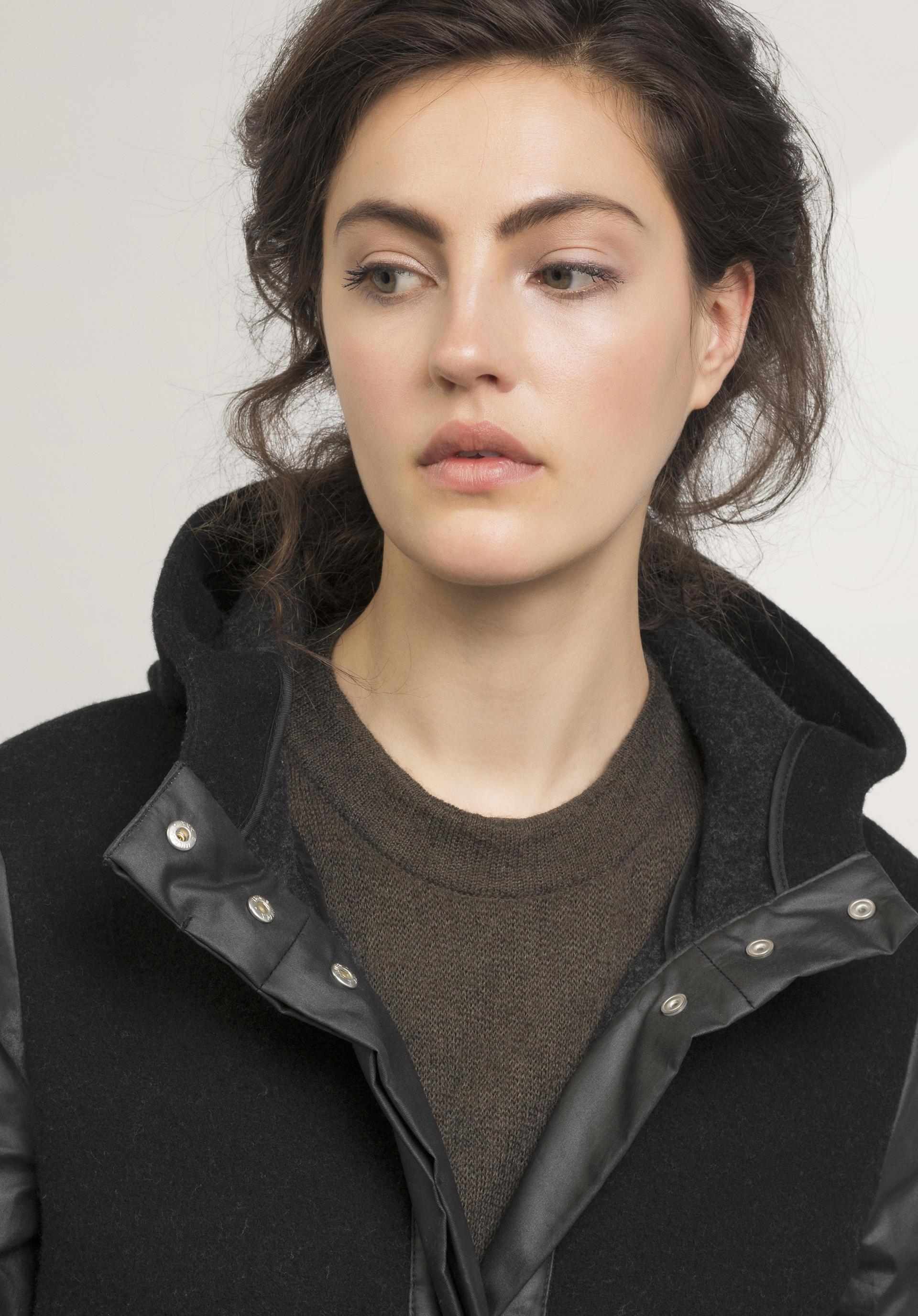 Damen Mantel aus Schurwolle mit Bio-Baumwolle - hessnatur Schweiz ed76cdec75