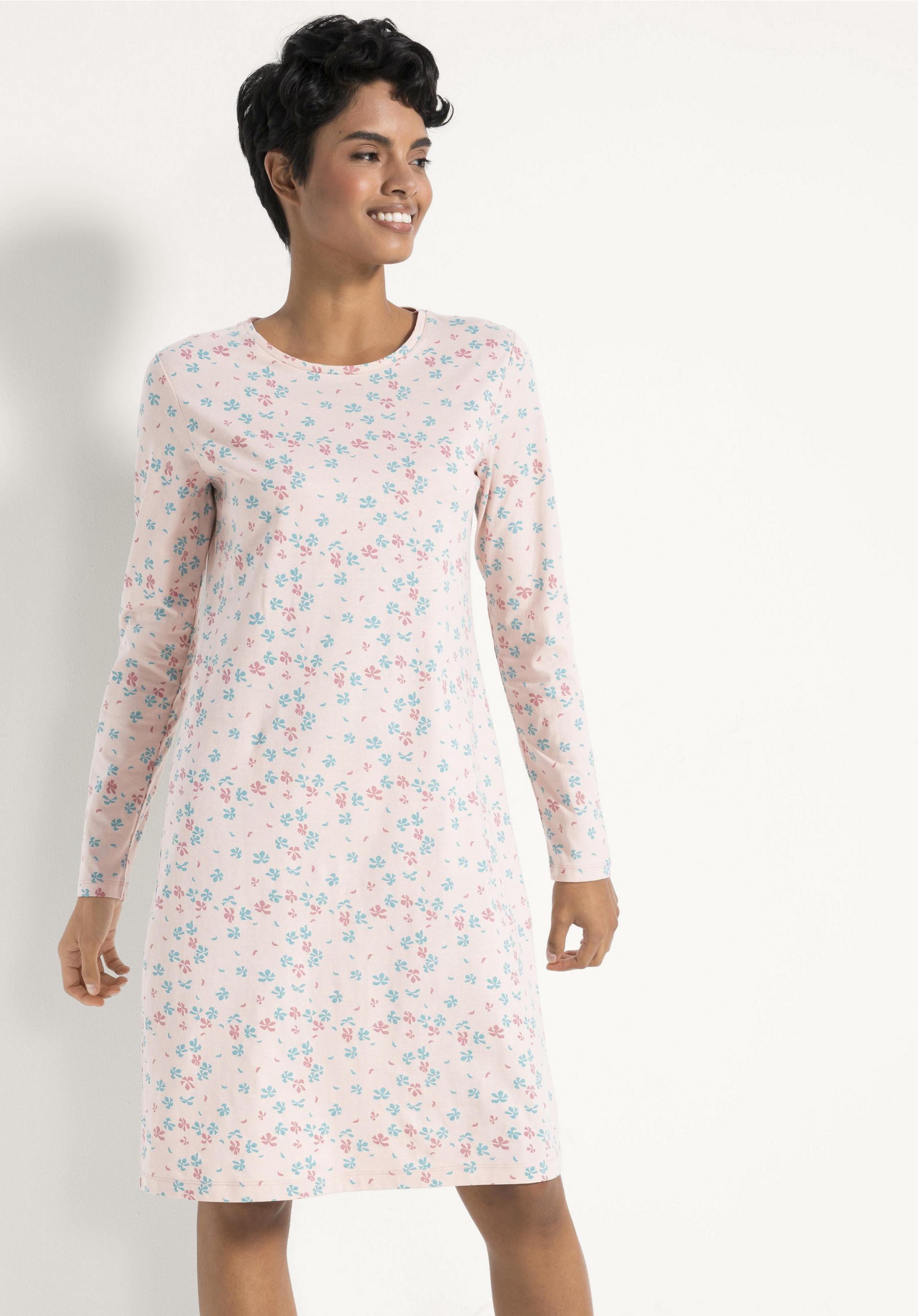 newest d13f6 70f6c Damen Nachthemd aus reiner Bio-Baumwolle von hessnatur