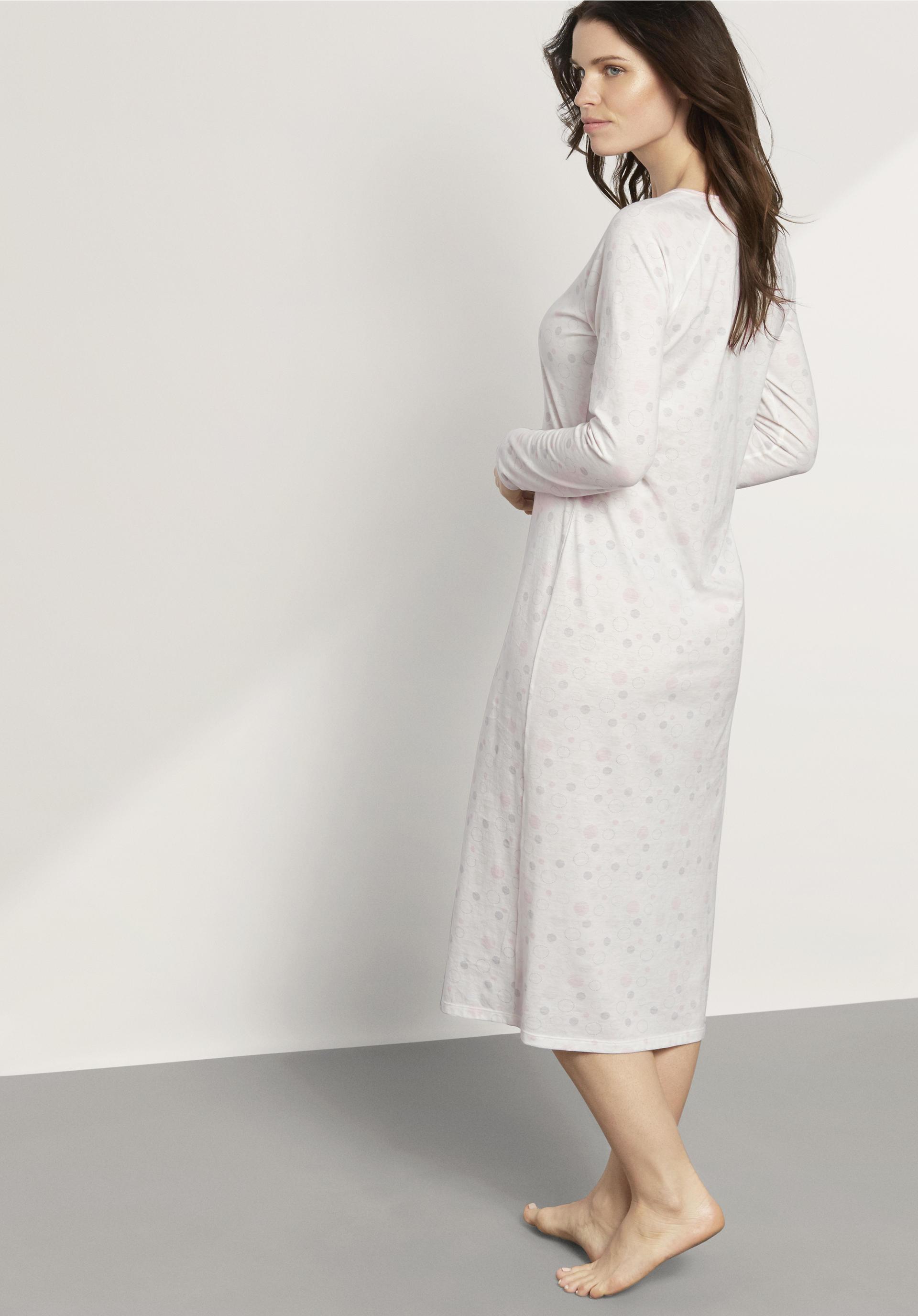 bd2924a5444f49 Damen Nachthemd aus reiner Bio-Baumwolle - hessnatur Österreich