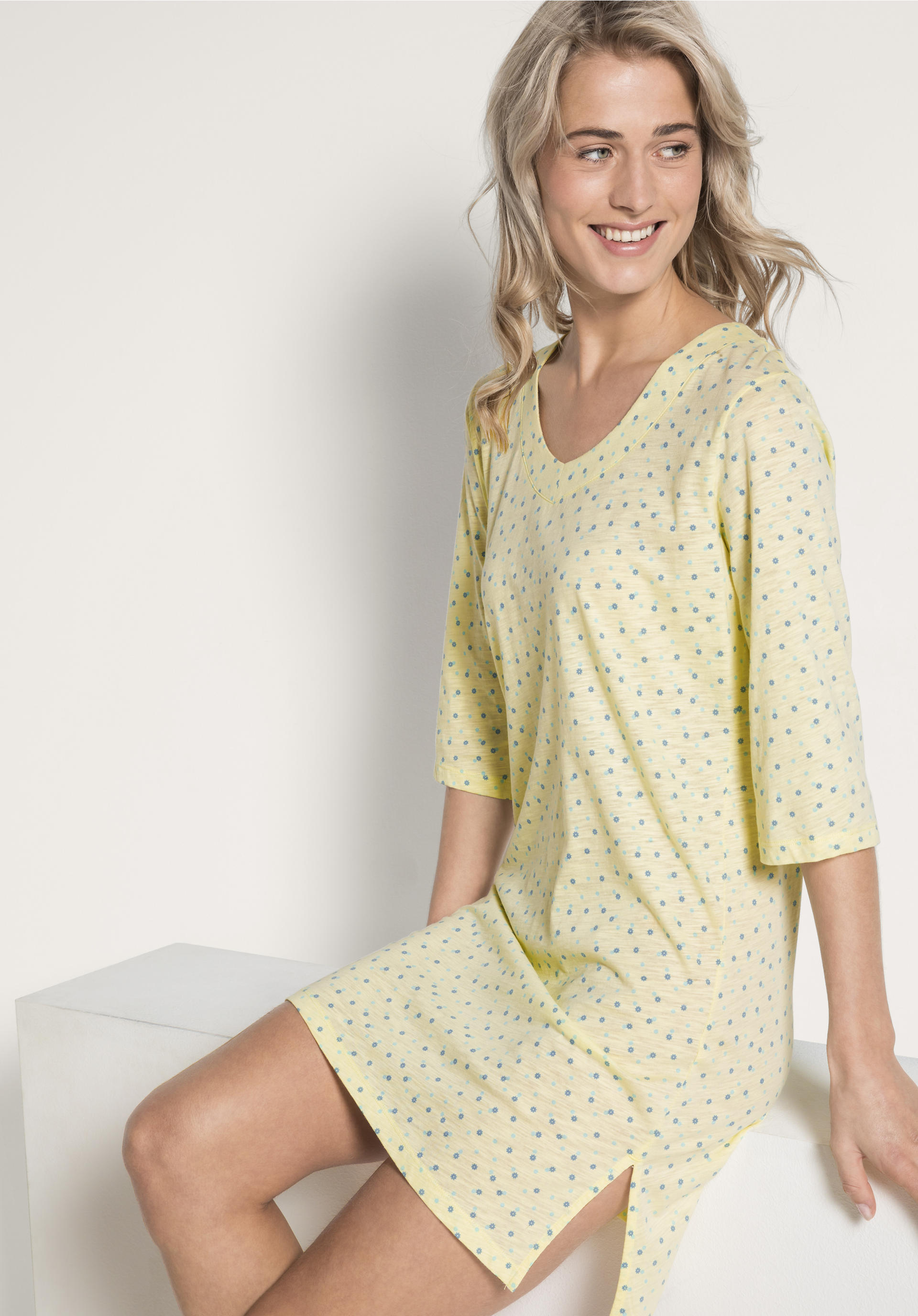 newest b9db1 66c05 Damen Nachthemd aus reiner Bio-Baumwolle von hessnatur
