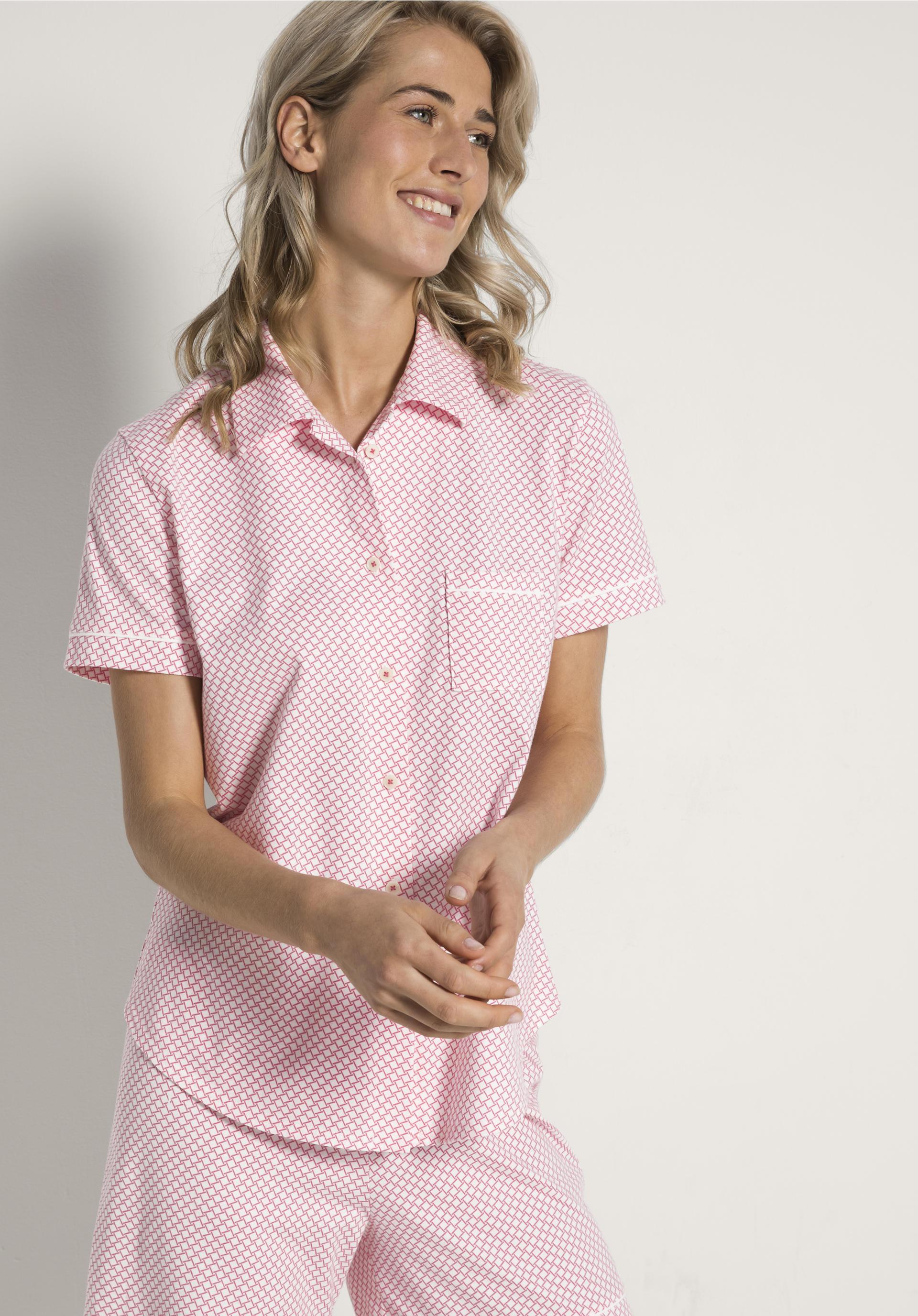 new york 7d41a e08c8 Damen Pyjama aus reiner Bio-Baumwolle von hessnatur