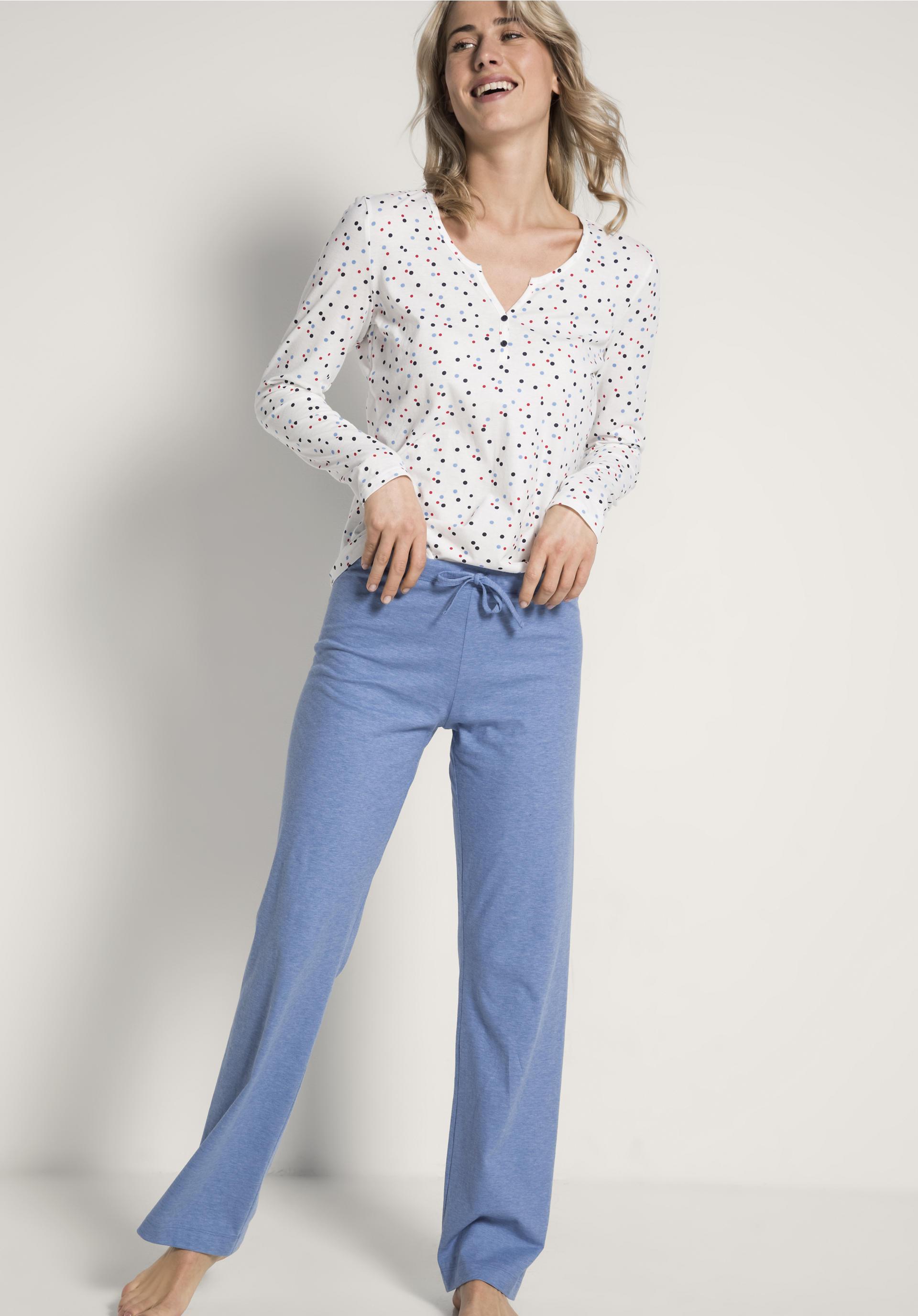0af2a6983b Damen Pyjamahose aus reiner Bio-Baumwolle - hessnatur Deutschland