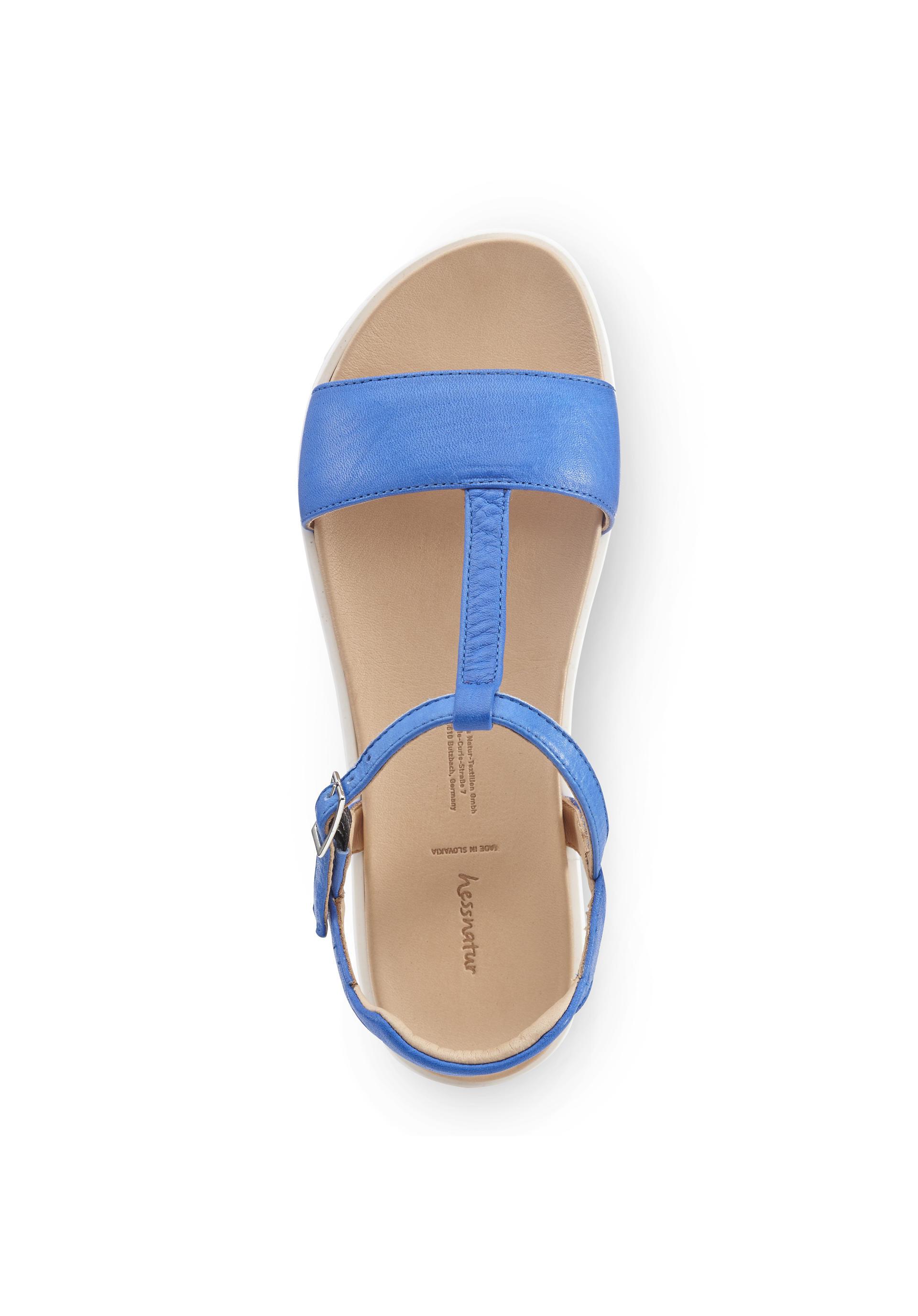 Damen Sandale aus Leder von hessnatur