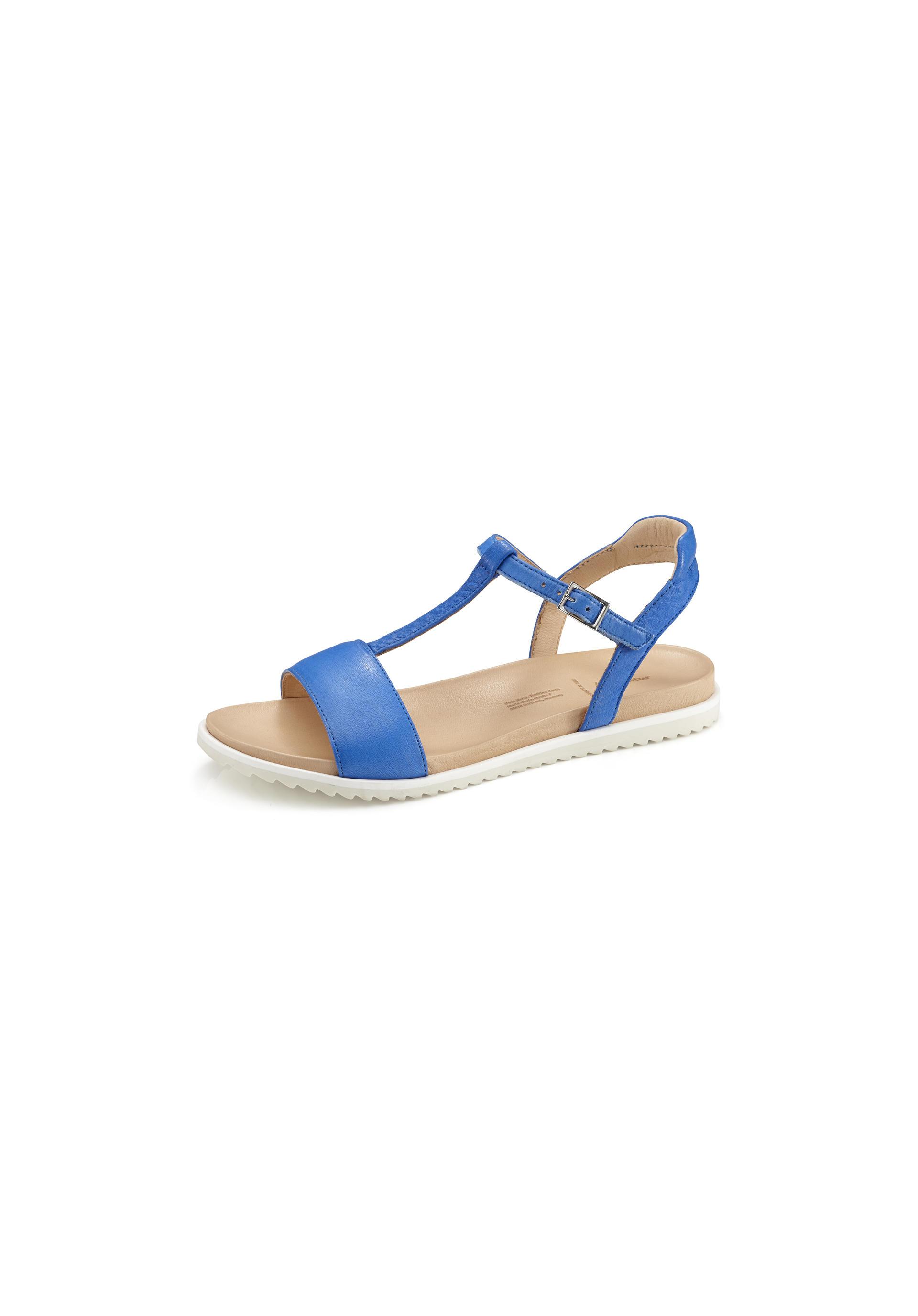classic fit db389 2bd28 Damen Sandale aus Leder von hessnatur