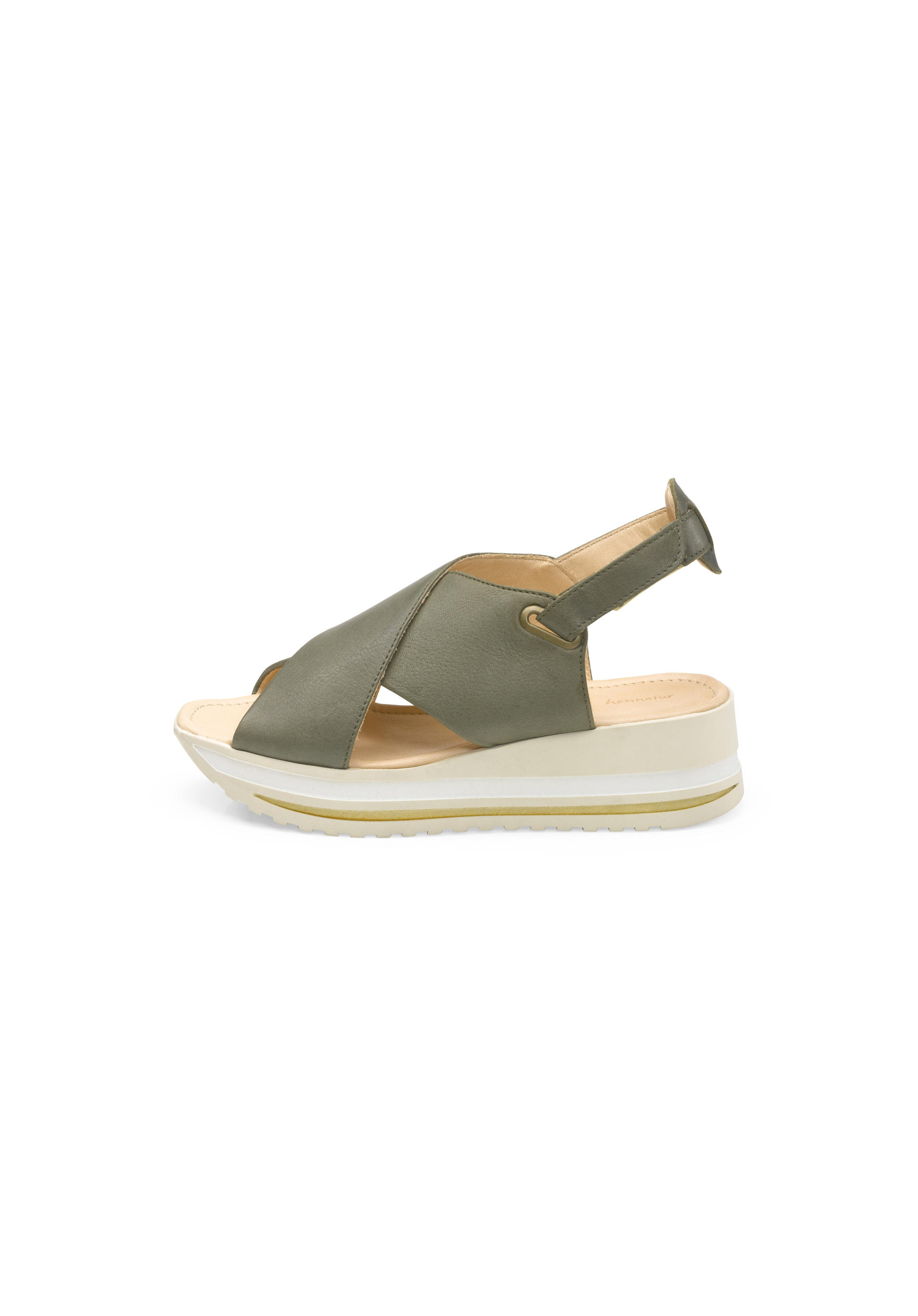 Damen Sandalette aus Leder von hessnatur