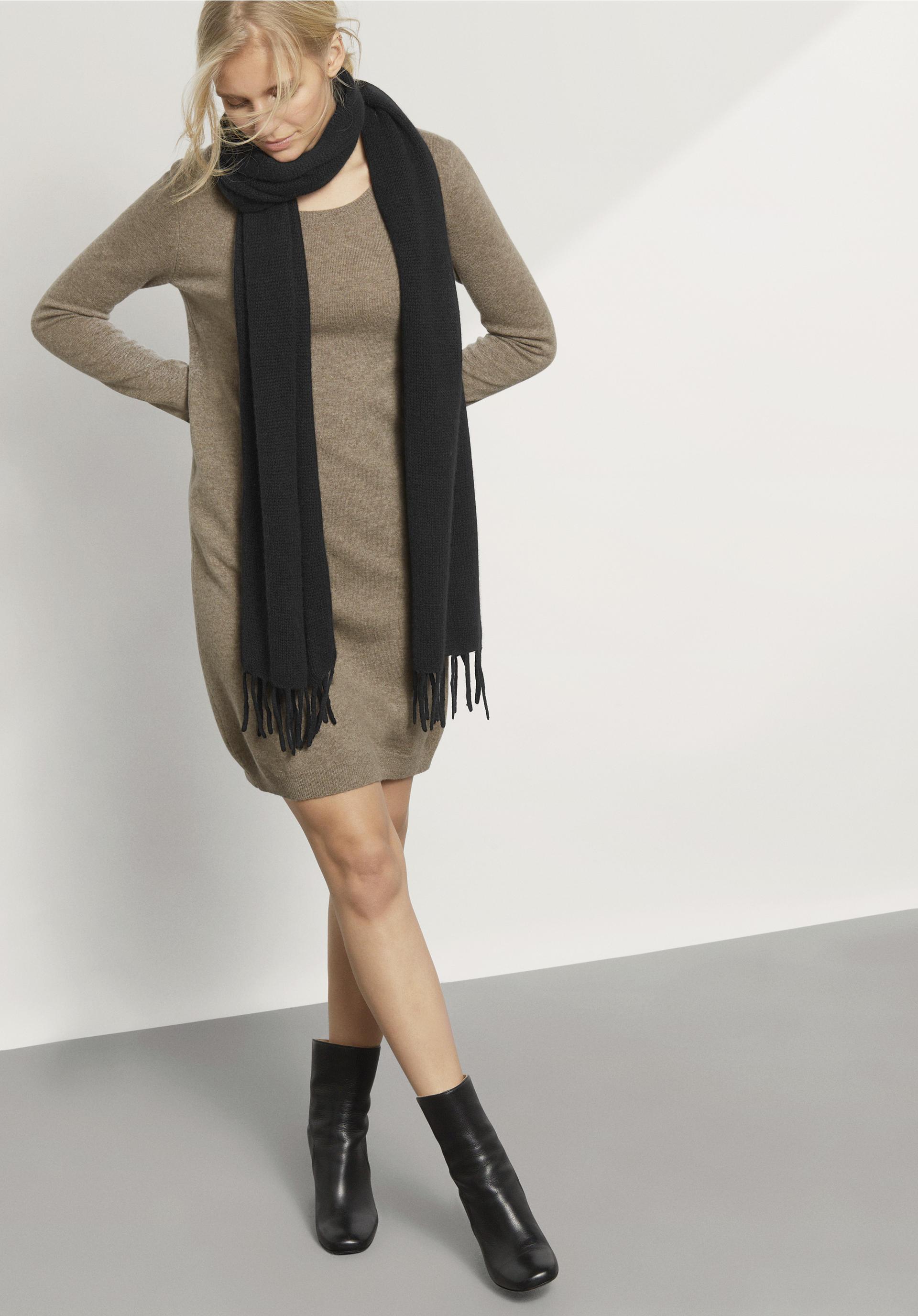 Damen schal aus reinem kaschmir hessnatur deutschland for Schal binden damen