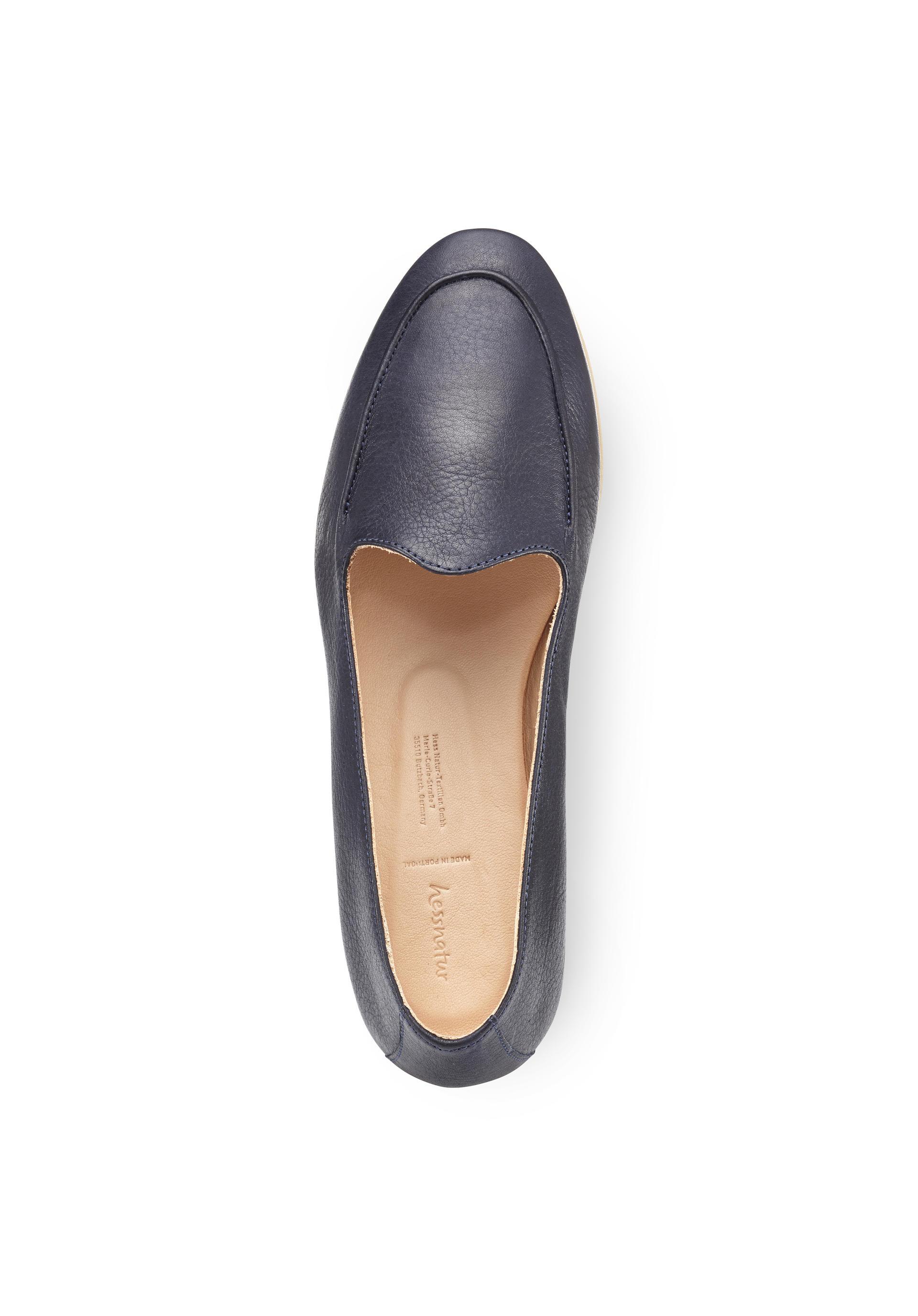 sale retailer a75bf e9f50 Damen Slipper aus Leder von hessnatur