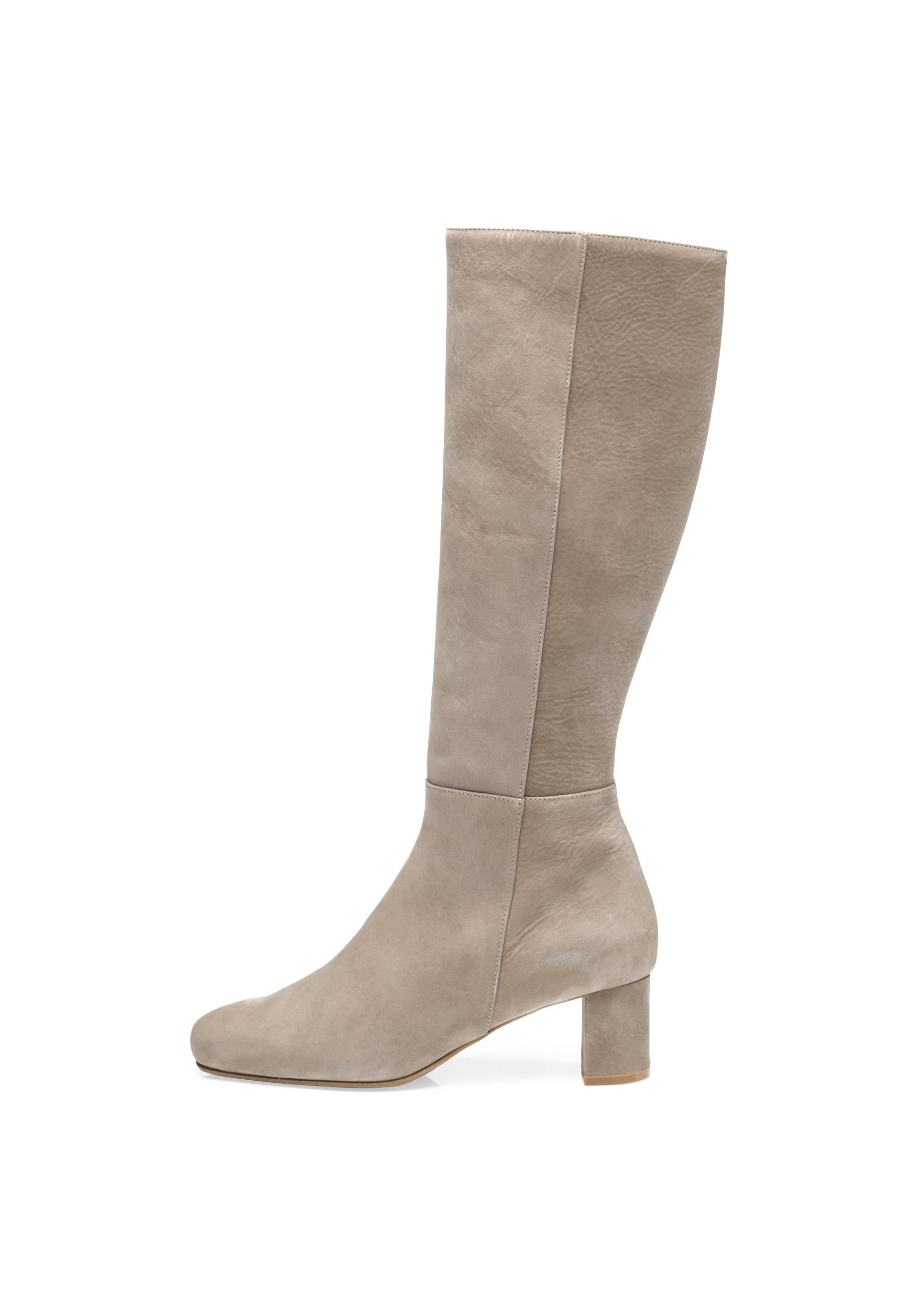 Damen Stiefel aus Leder von hessnatur