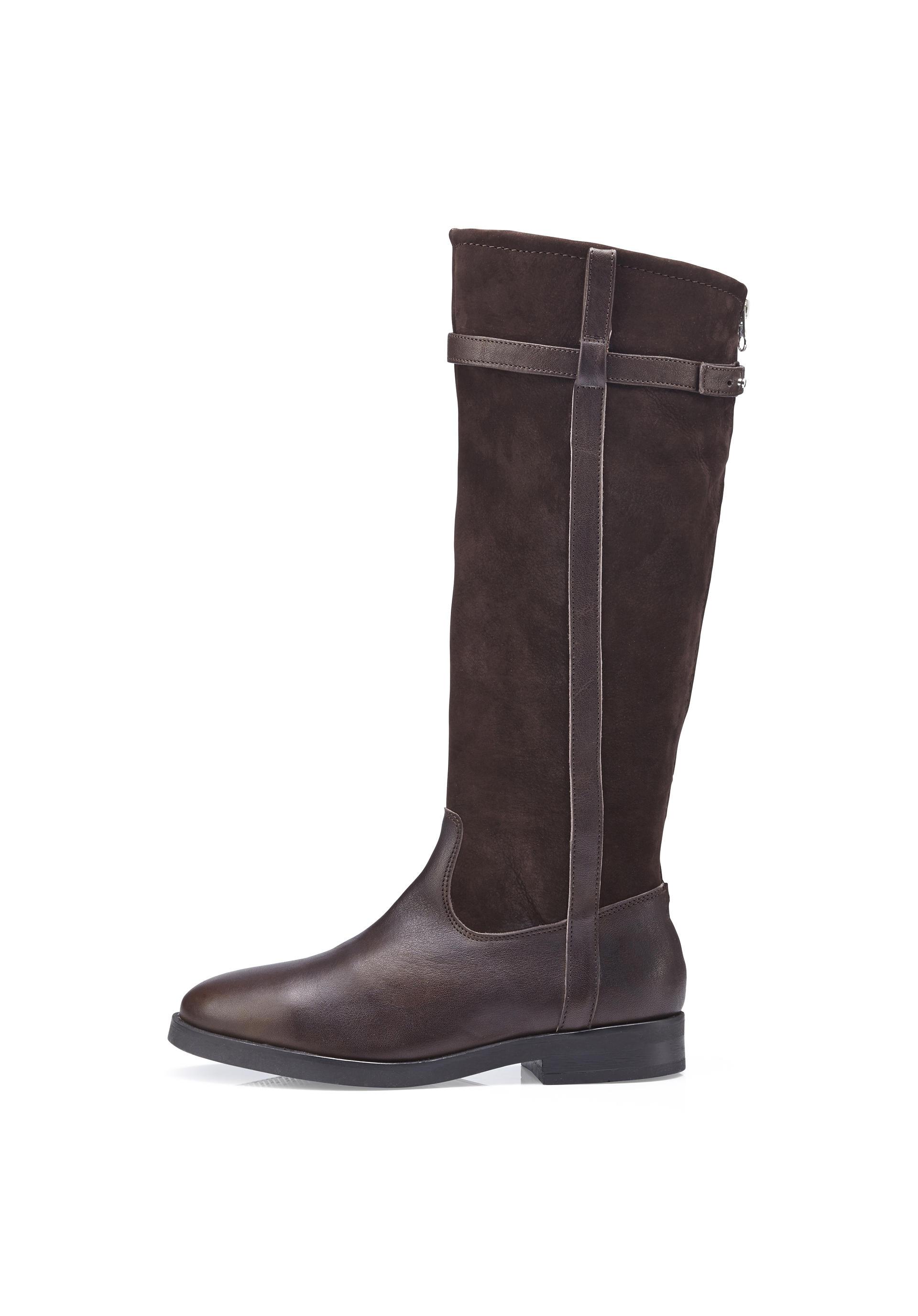 best authentic f9056 73d09 Damen Stiefel aus Leder von hessnatur