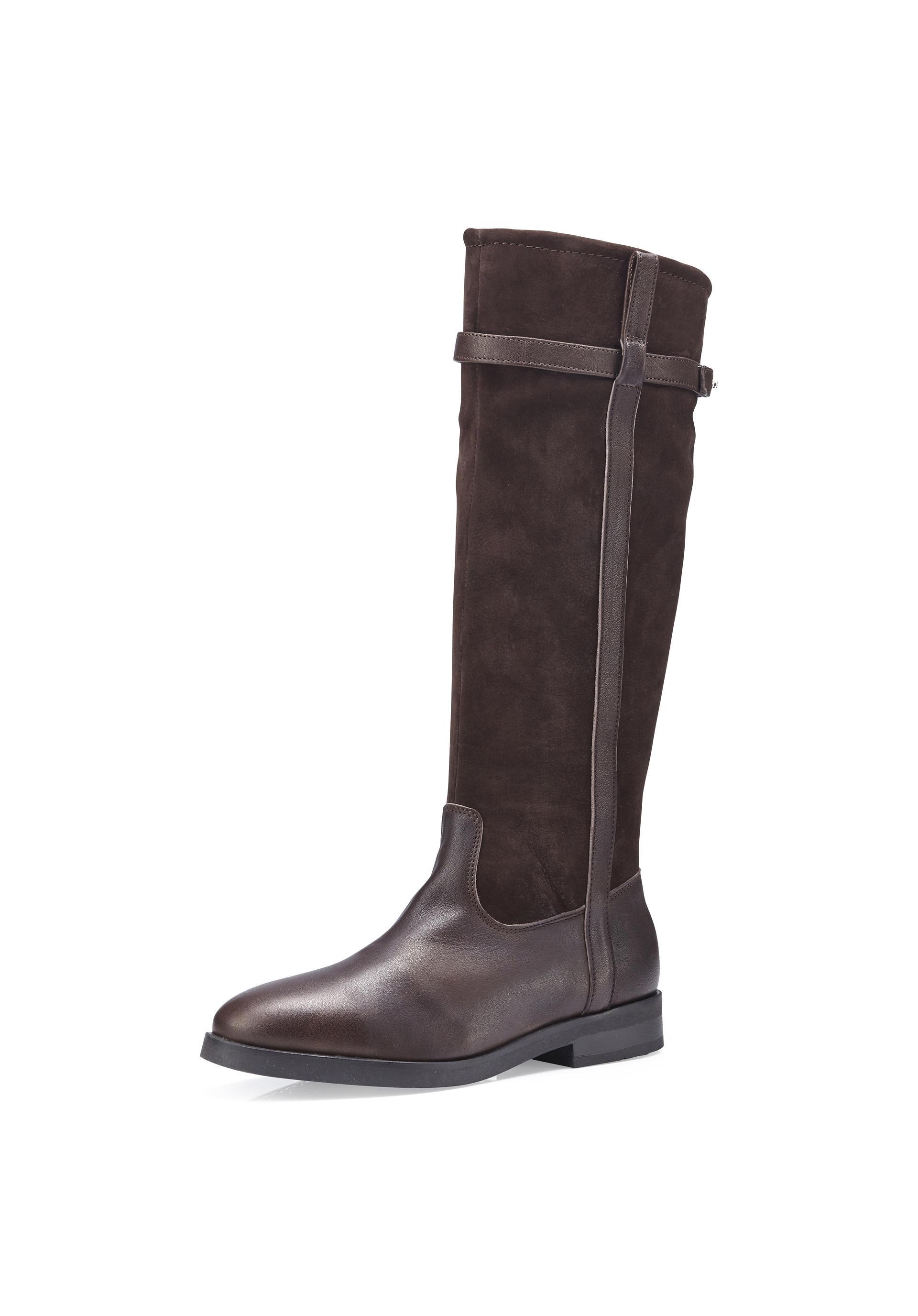 Damen Stiefel aus Leder - hessnatur Schweiz 2dbf46524f
