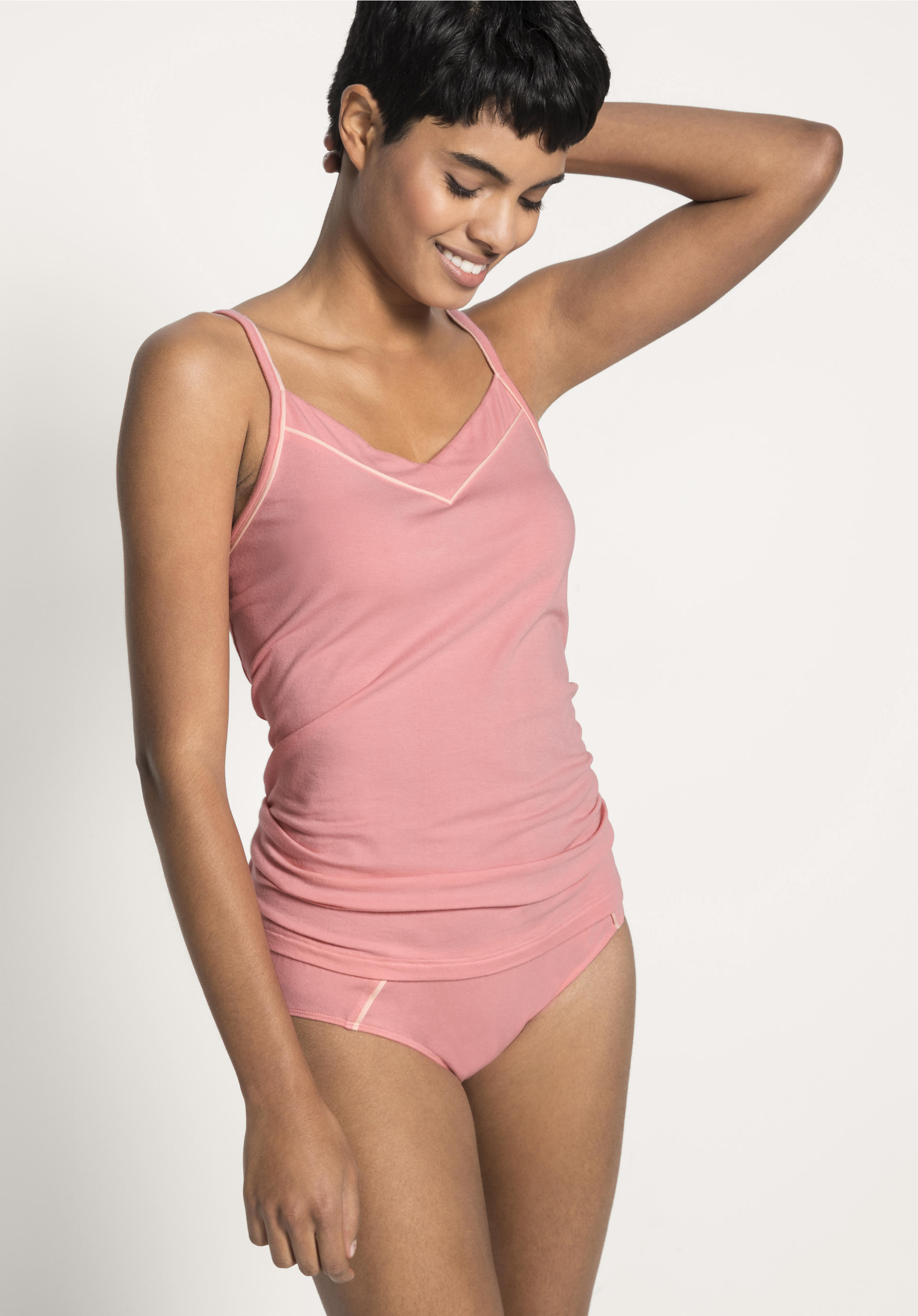 low priced 65fd3 b9bec Damen Unterhemd aus Bio-Baumwolle und Modal von hessnatur
