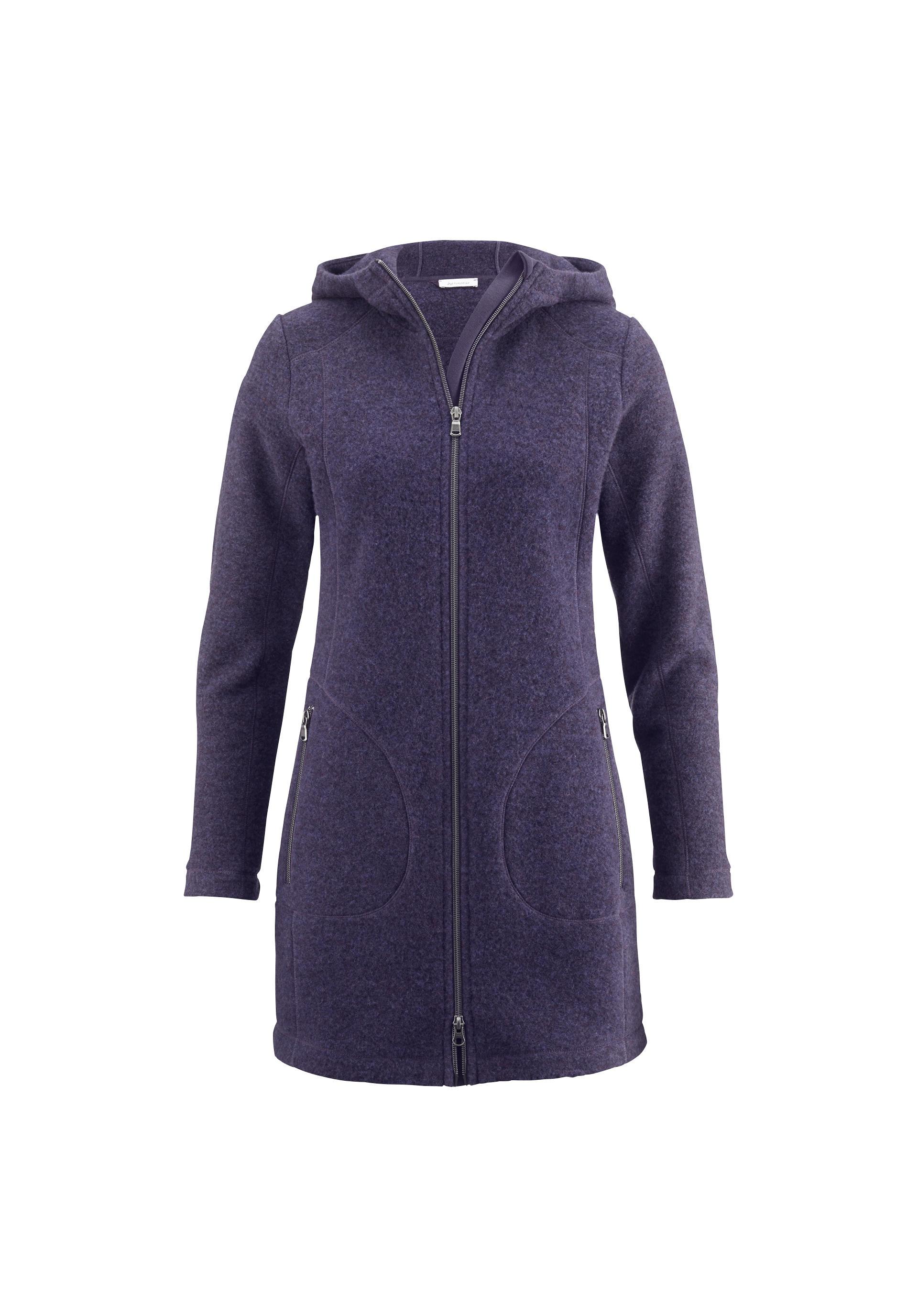 59c6ed4f53895c Damen Wollfleece-Jacke aus reiner Bio-Schurwolle - hessnatur Deutschland