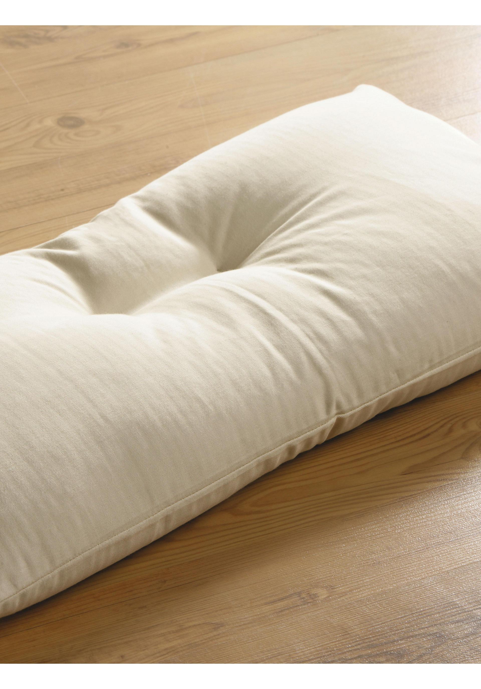 r ckenschl ferkissen kissen f r r ckenschl fer hessnatur deutschland. Black Bedroom Furniture Sets. Home Design Ideas