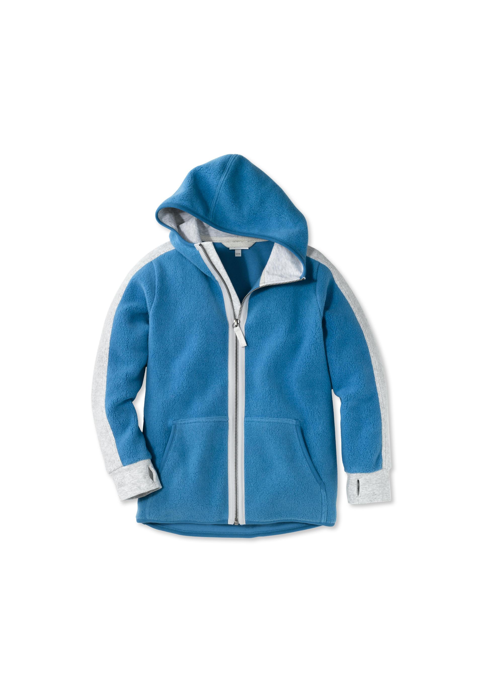 5cf0a299986484 Fleece Jacke aus reiner Bio-Baumwolle - hessnatur Österreich