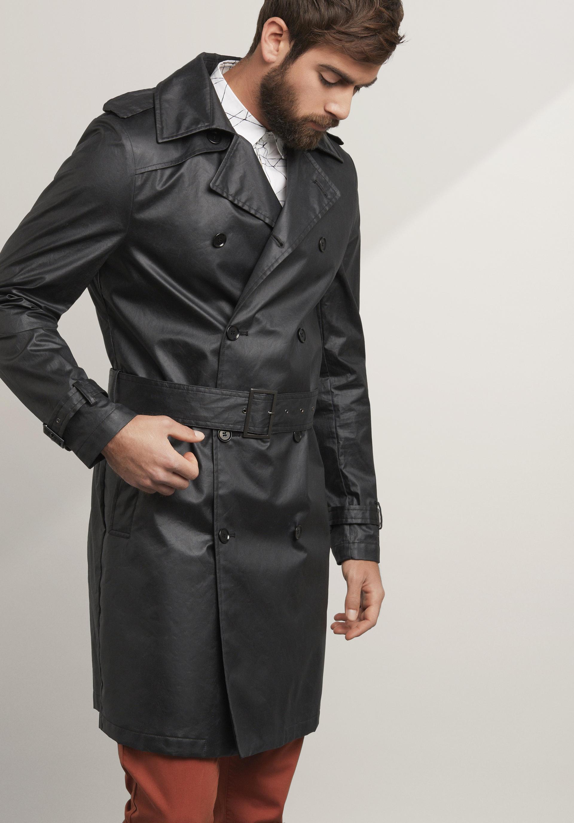 wholesale dealer 8cc70 2d107 Herren Trenchcoat aus reiner Bio-Baumwolle von hessnatur