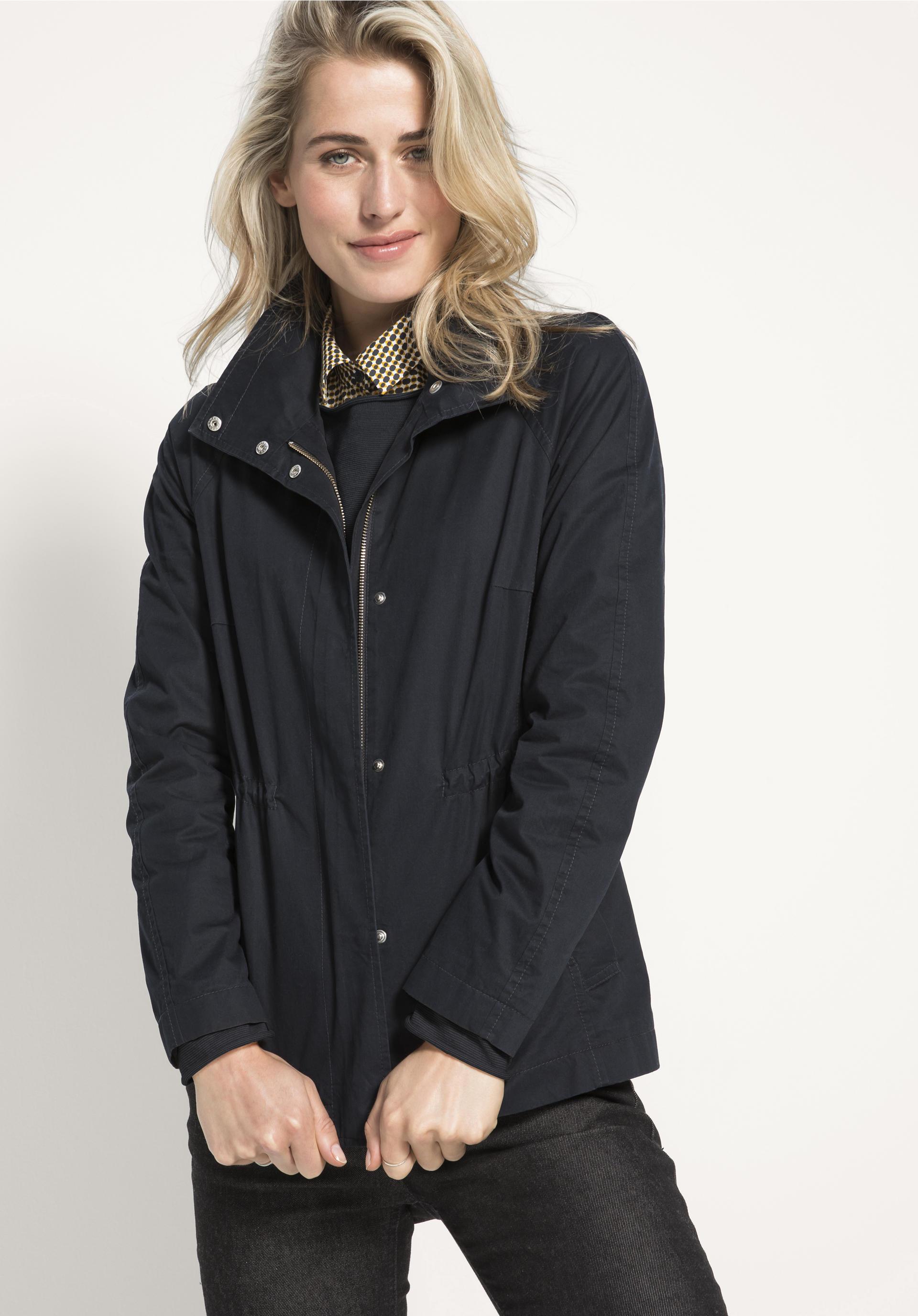 Jacke aus reiner Bio Baumwolle von hessnatur