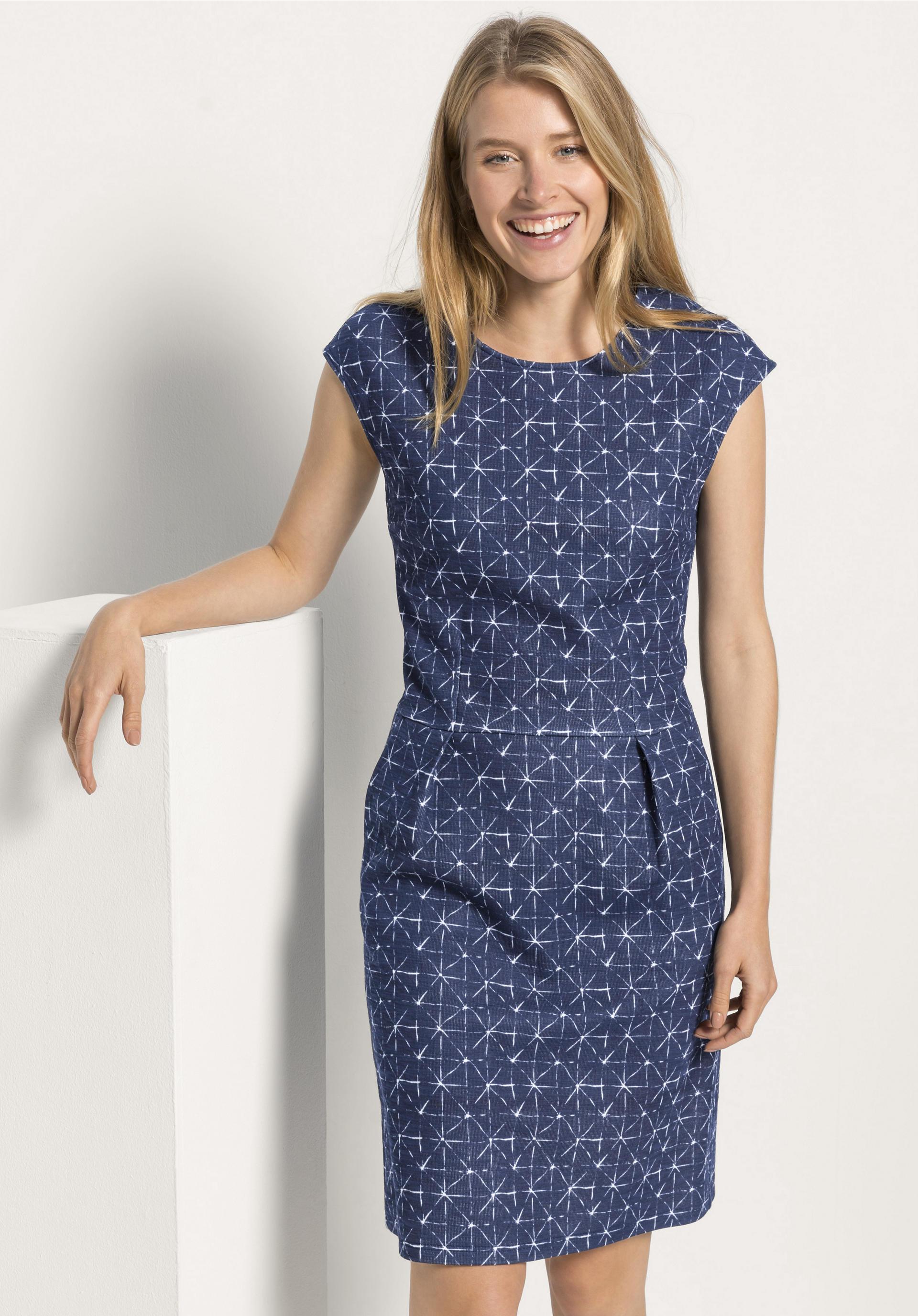 Jersey Kleid Aus Reiner Bio Baumwolle Hessnatur Deutschland