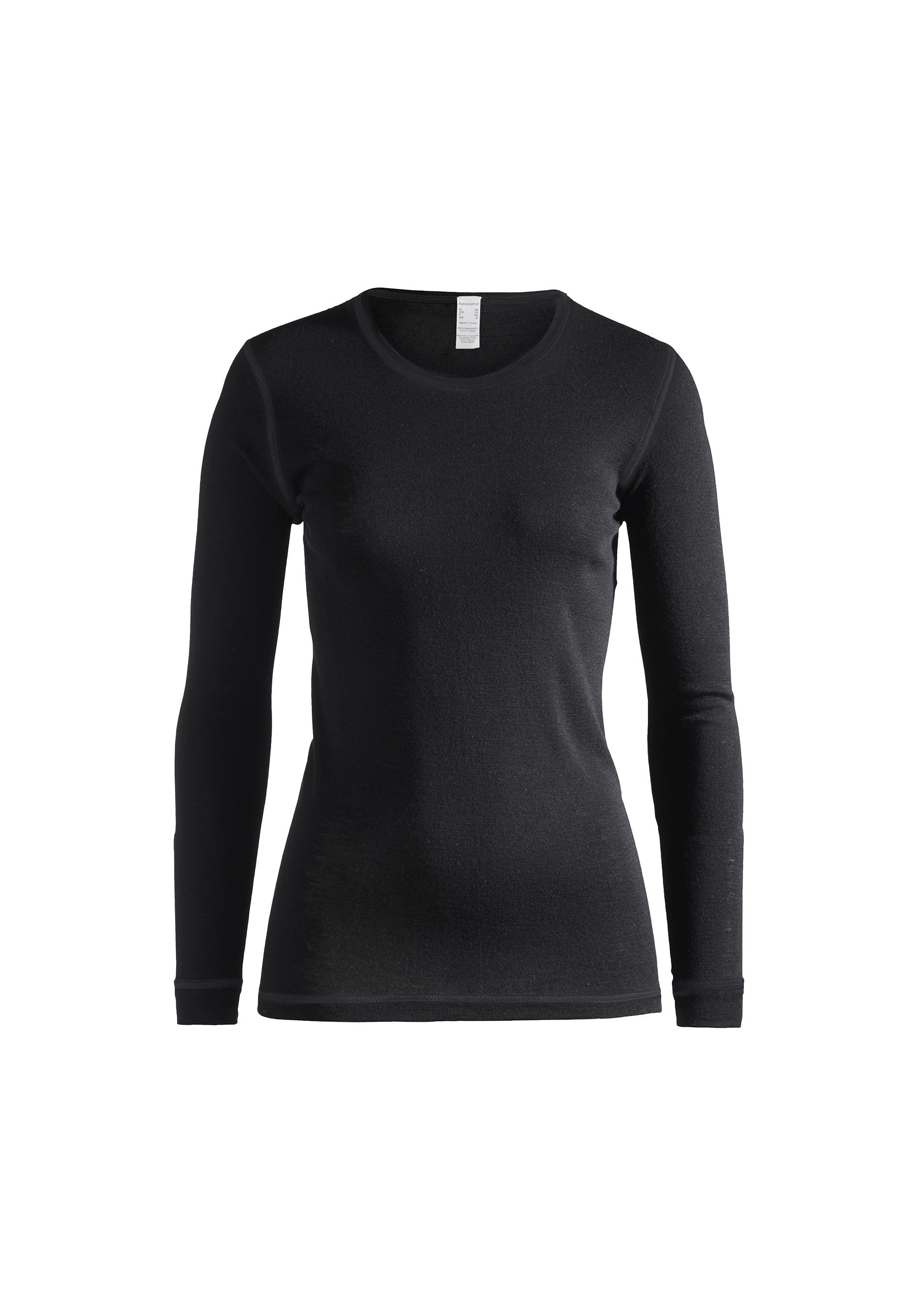 Langarm-Shirt PureMIX aus Bio-Schurwolle mit Seide - hessnatur ...
