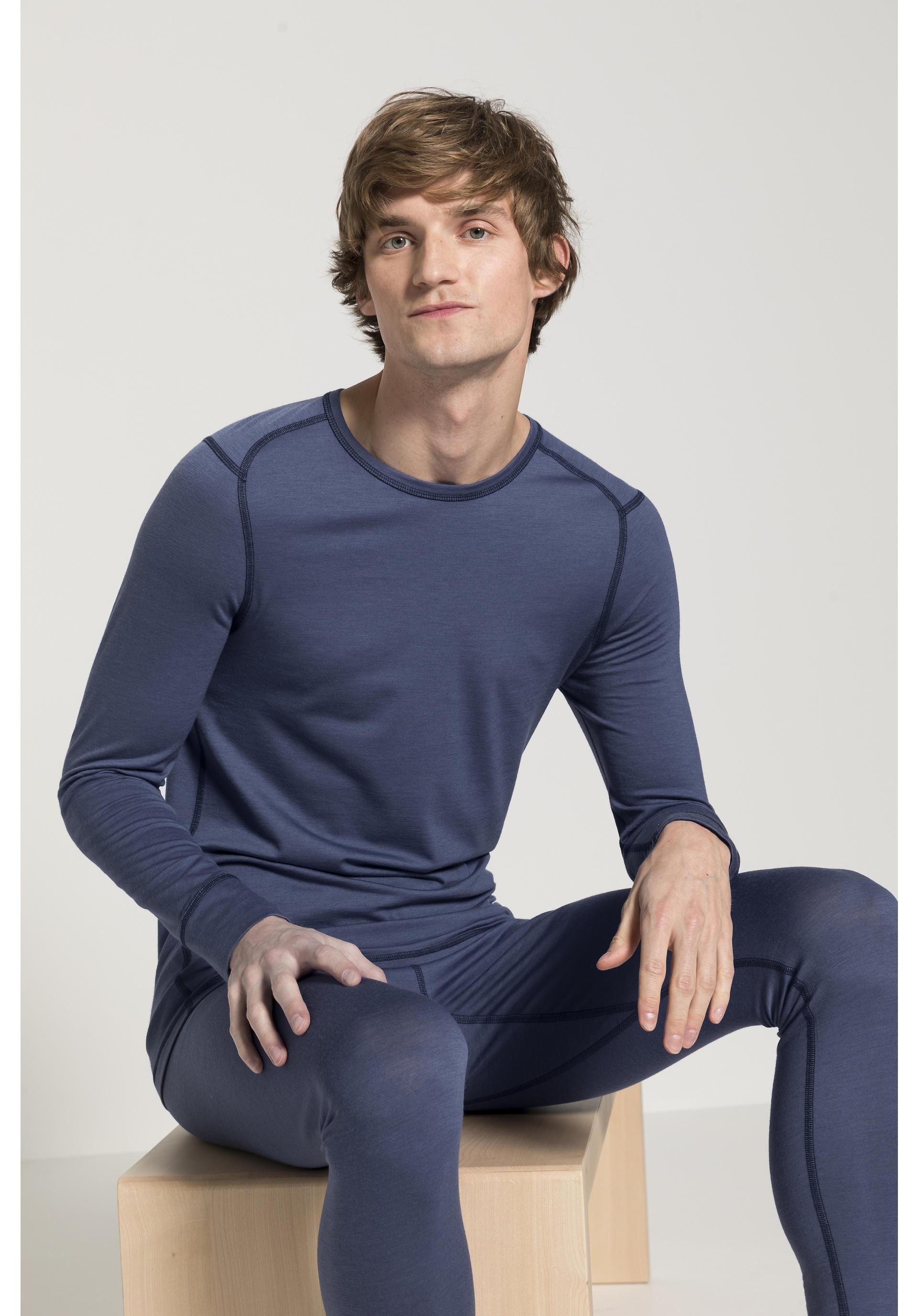 Langarm Shirt aus Bio Merinowolle von hessnatur