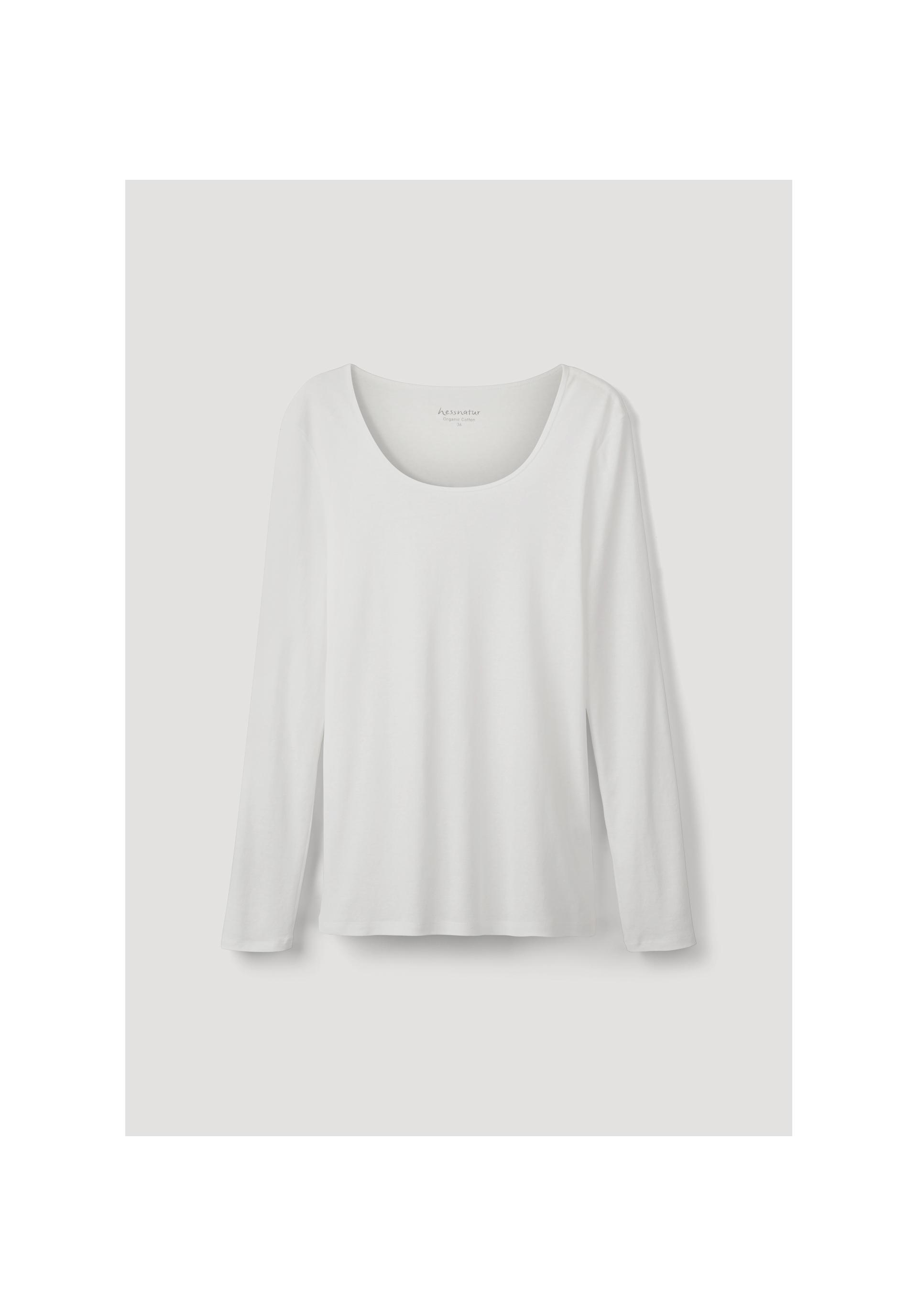 2ee6ca44dc42c1 Langarm-Shirt aus reiner Bio-Baumwolle - hessnatur Deutschland