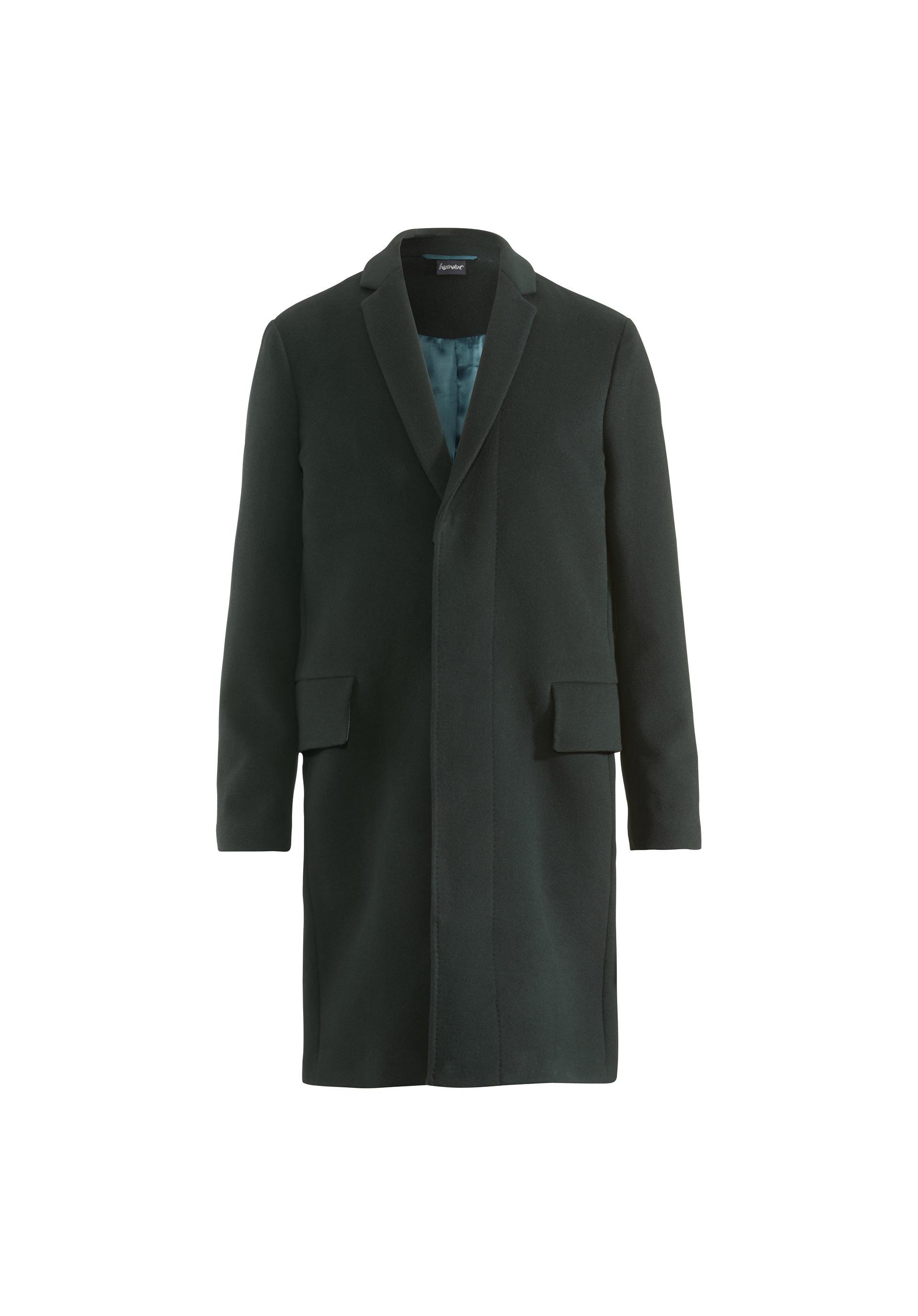 Schurwolle mantel