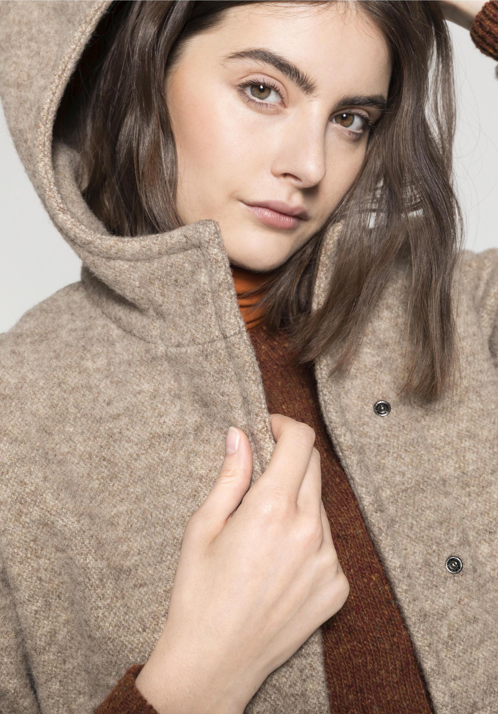 Mantel aus reiner Schurwolle vom Rhönschaf - hessnatur Deutschland 5562db3c98