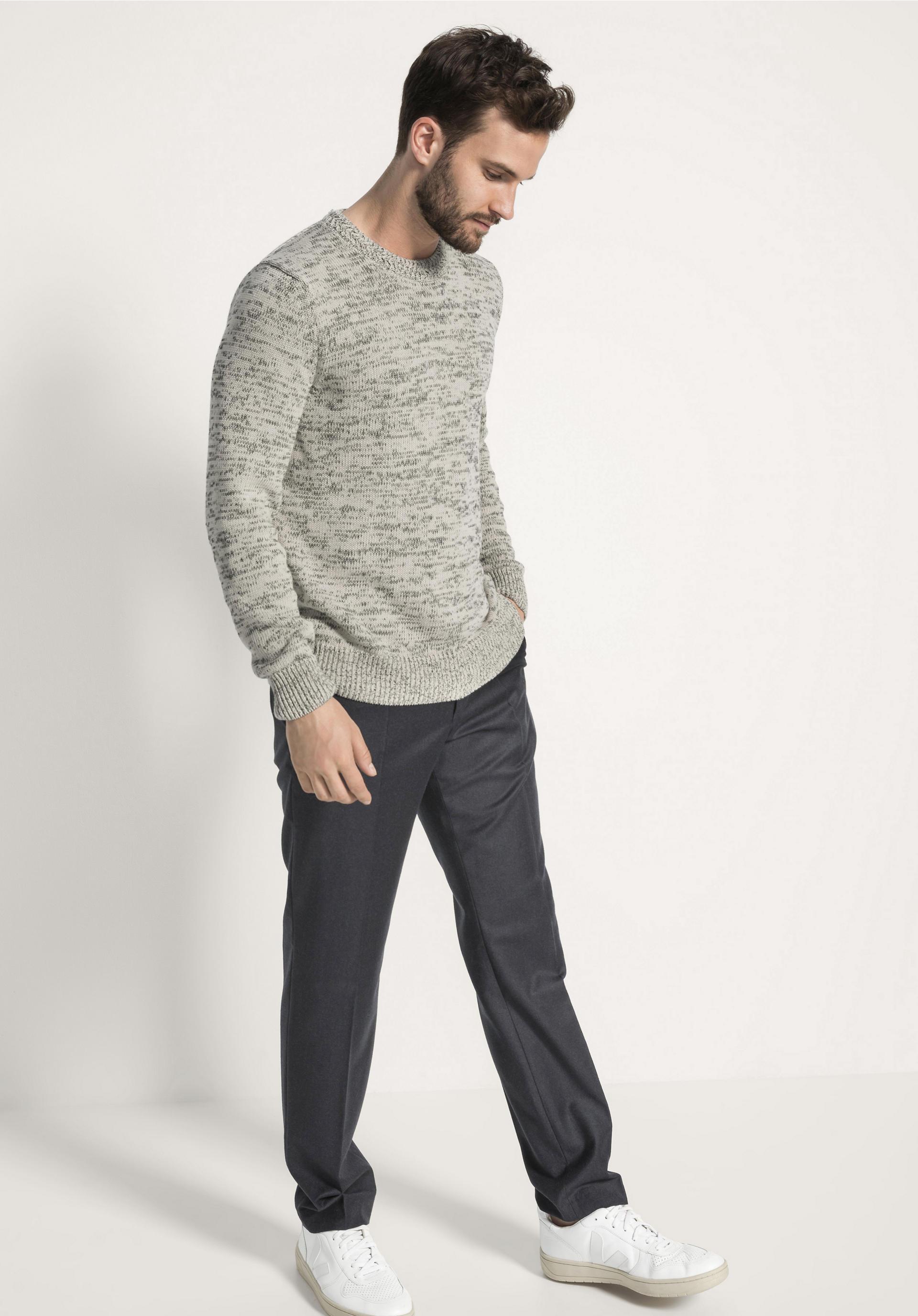 Pullover aus reiner Bio Baumwolle von hessnatur