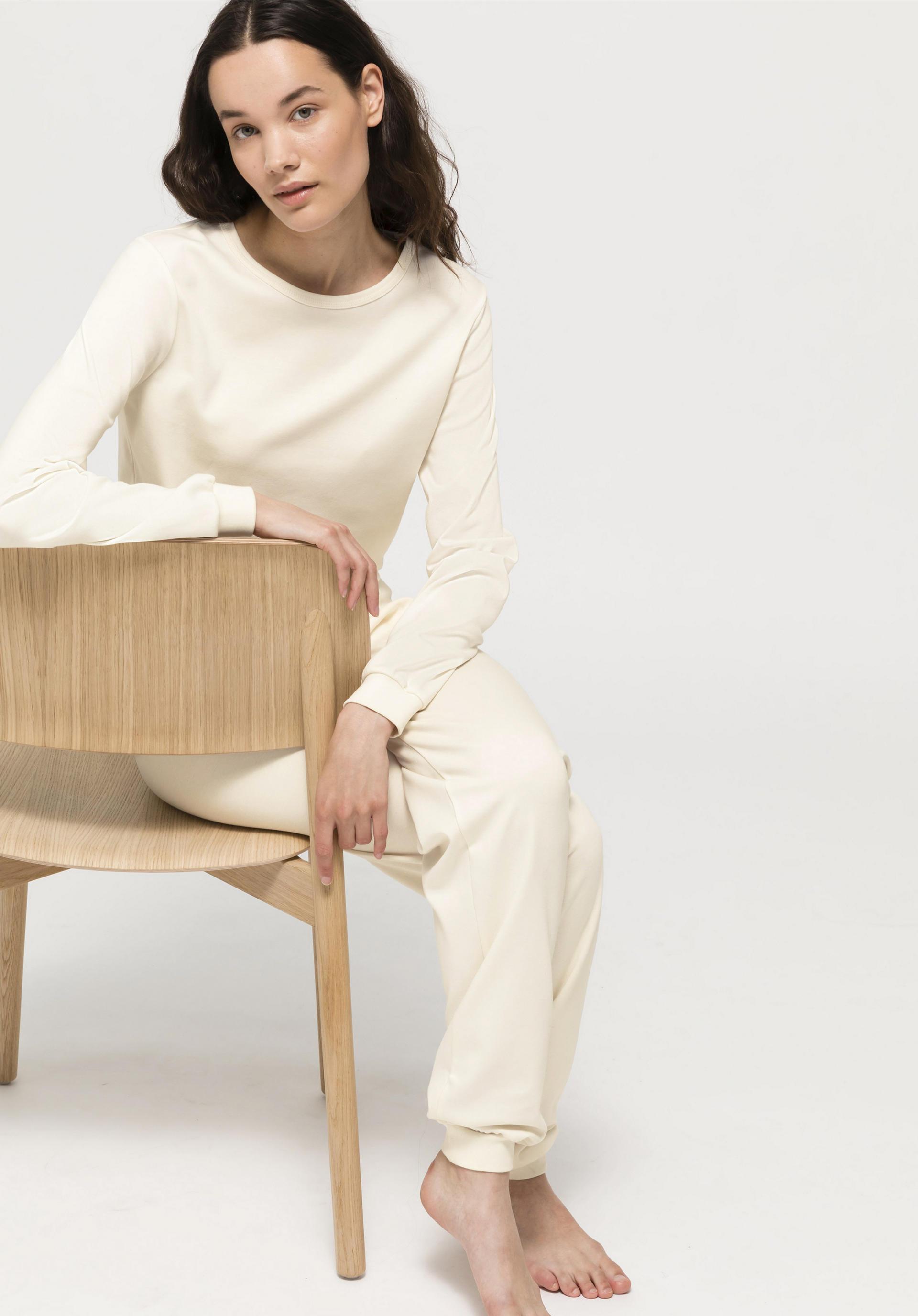 Damen Pyjama 3-Teiler Set  Sommer Collection 100/% Baumwolle Top Qualität