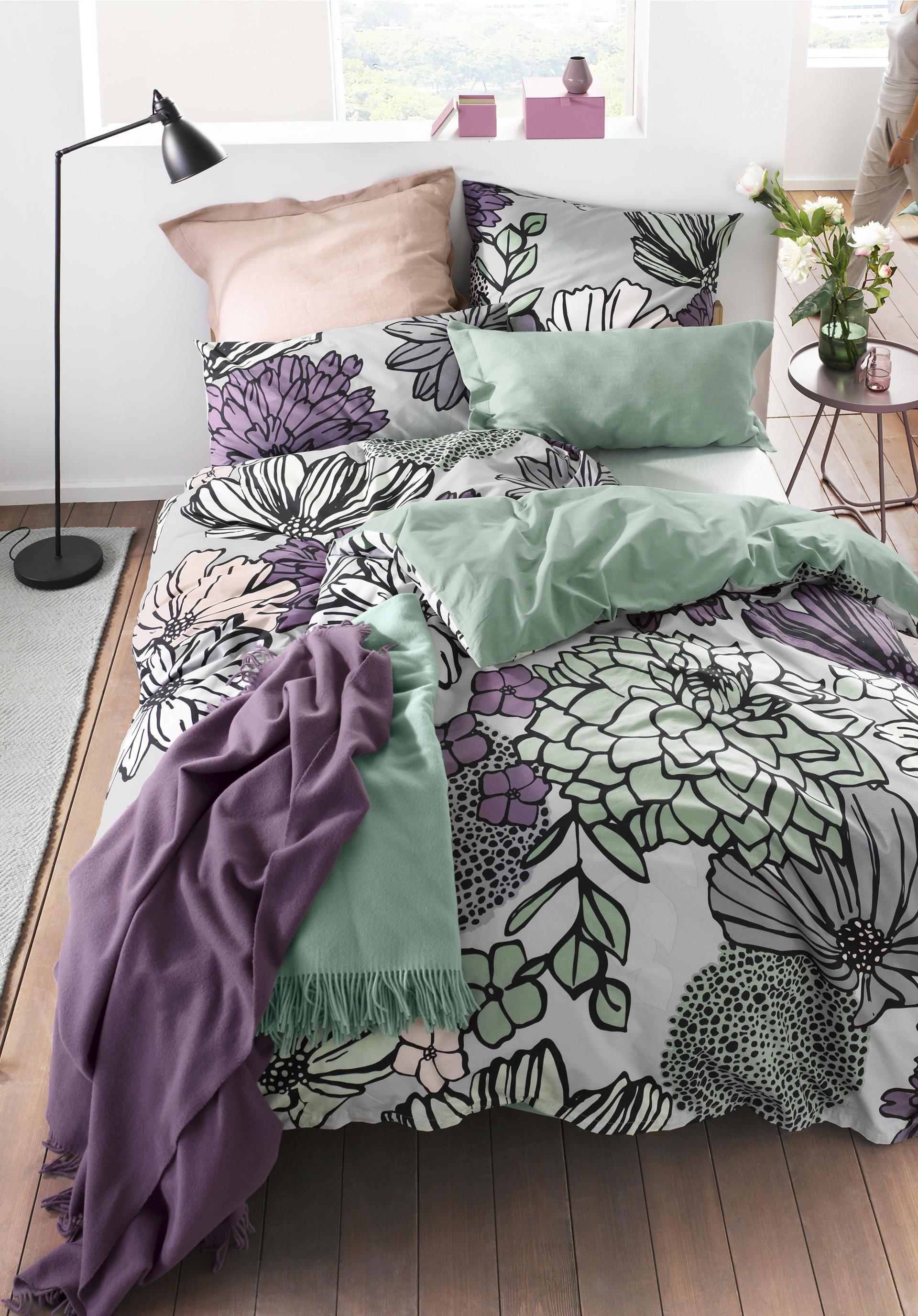 renforc wendebettw sche fiore aus reiner bio baumwolle. Black Bedroom Furniture Sets. Home Design Ideas
