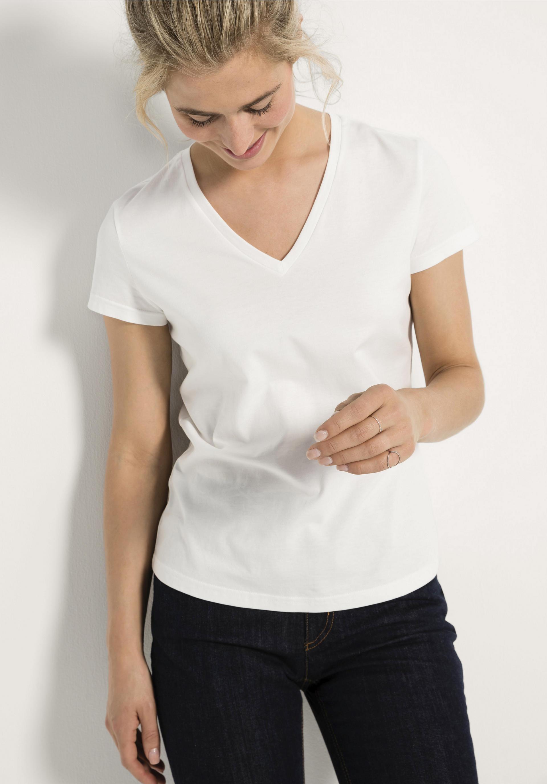 Shirt aus reiner Bio Baumwolle von hessnatur