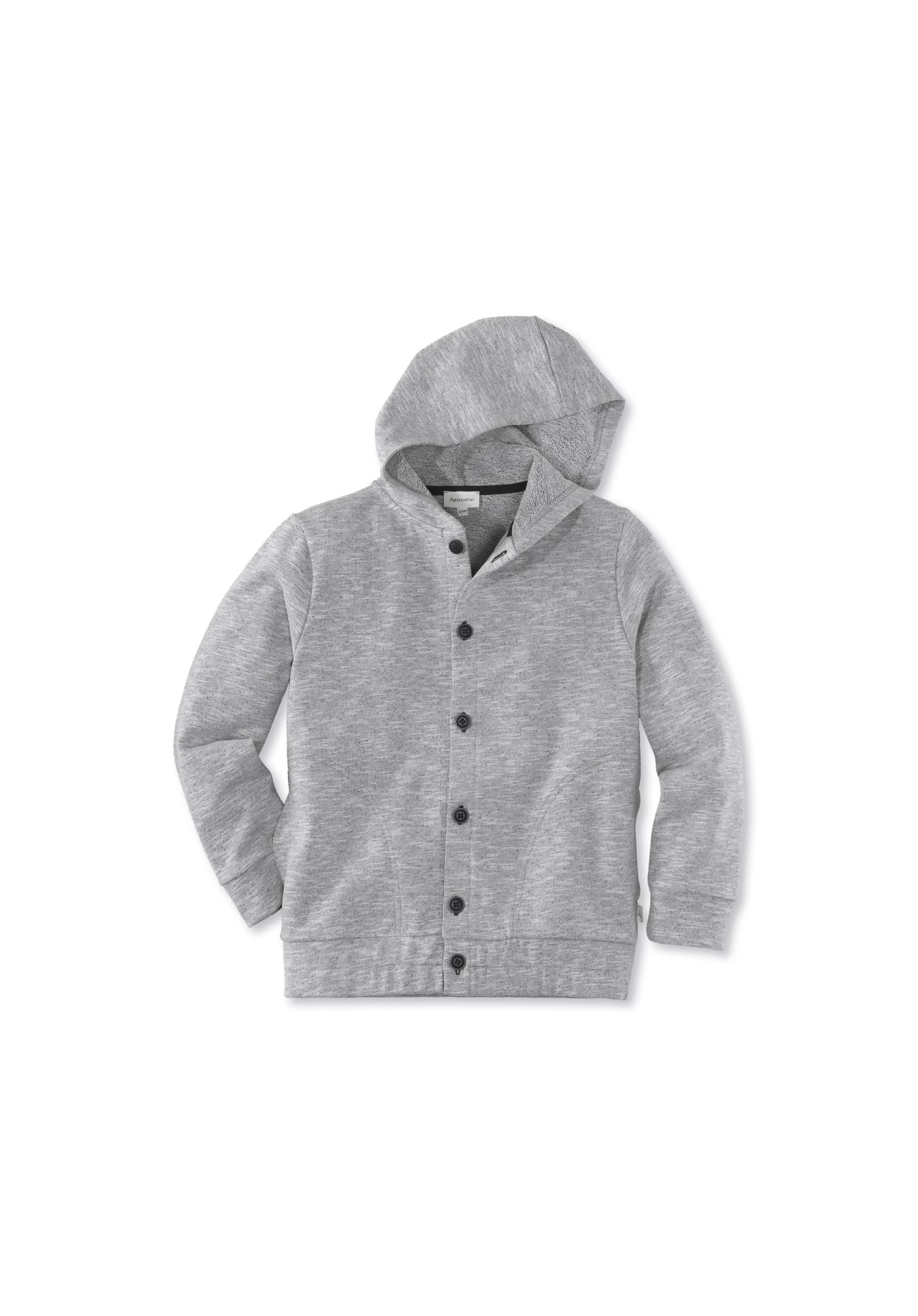 hessnatur Kinder M/ädchen und Jungen Unisex Fleece Jacke aus Reiner Bio-Baumwolle