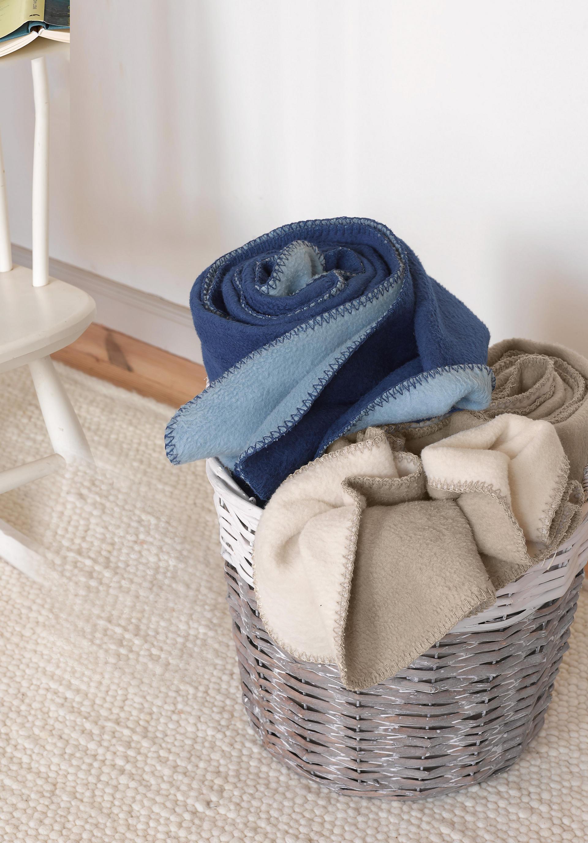 Trendige Blaue Bettw Sche Und Wohnaccessoires Hessnatur