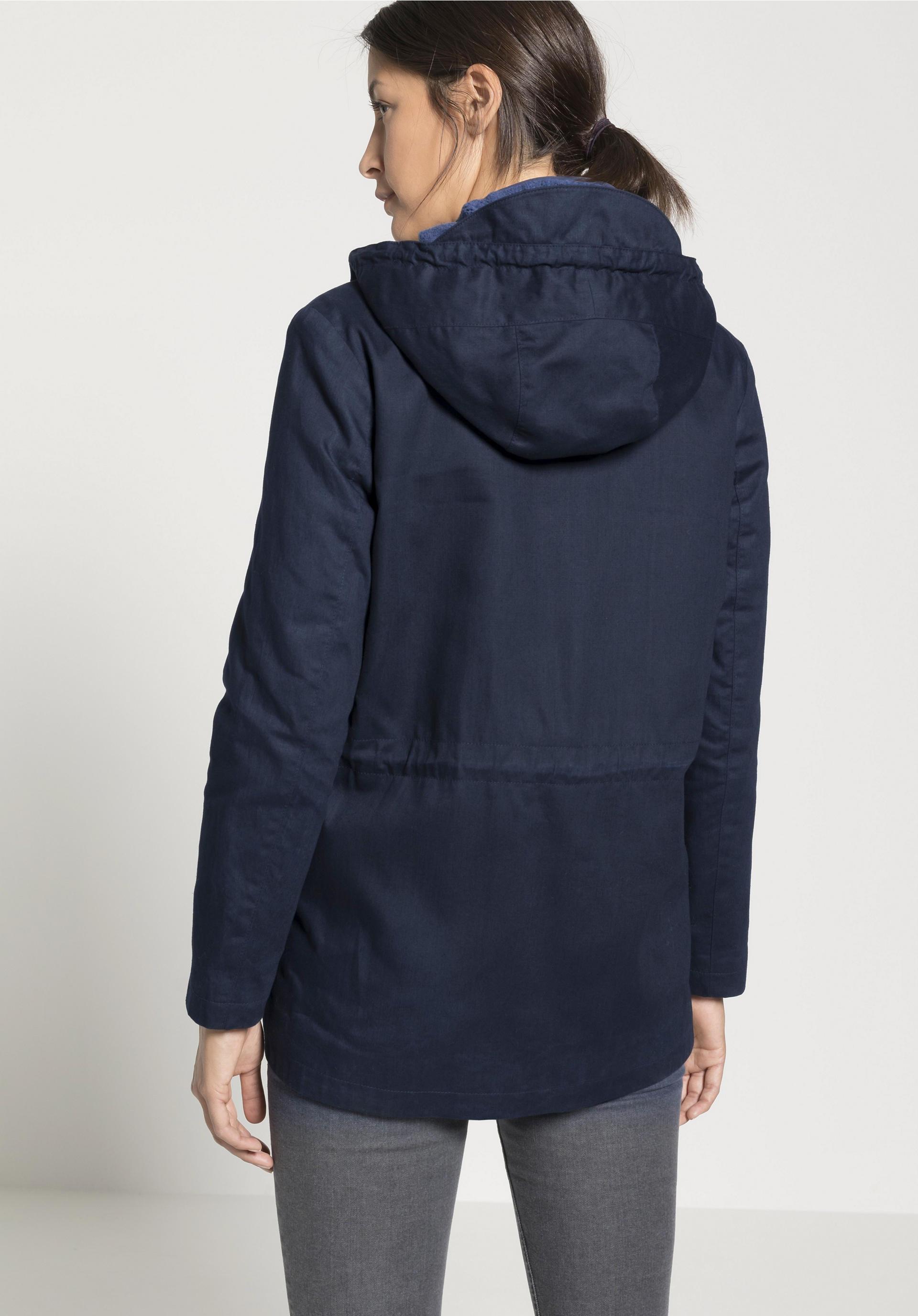 Wachsjacke aus reiner Bio Baumwolle von hessnatur