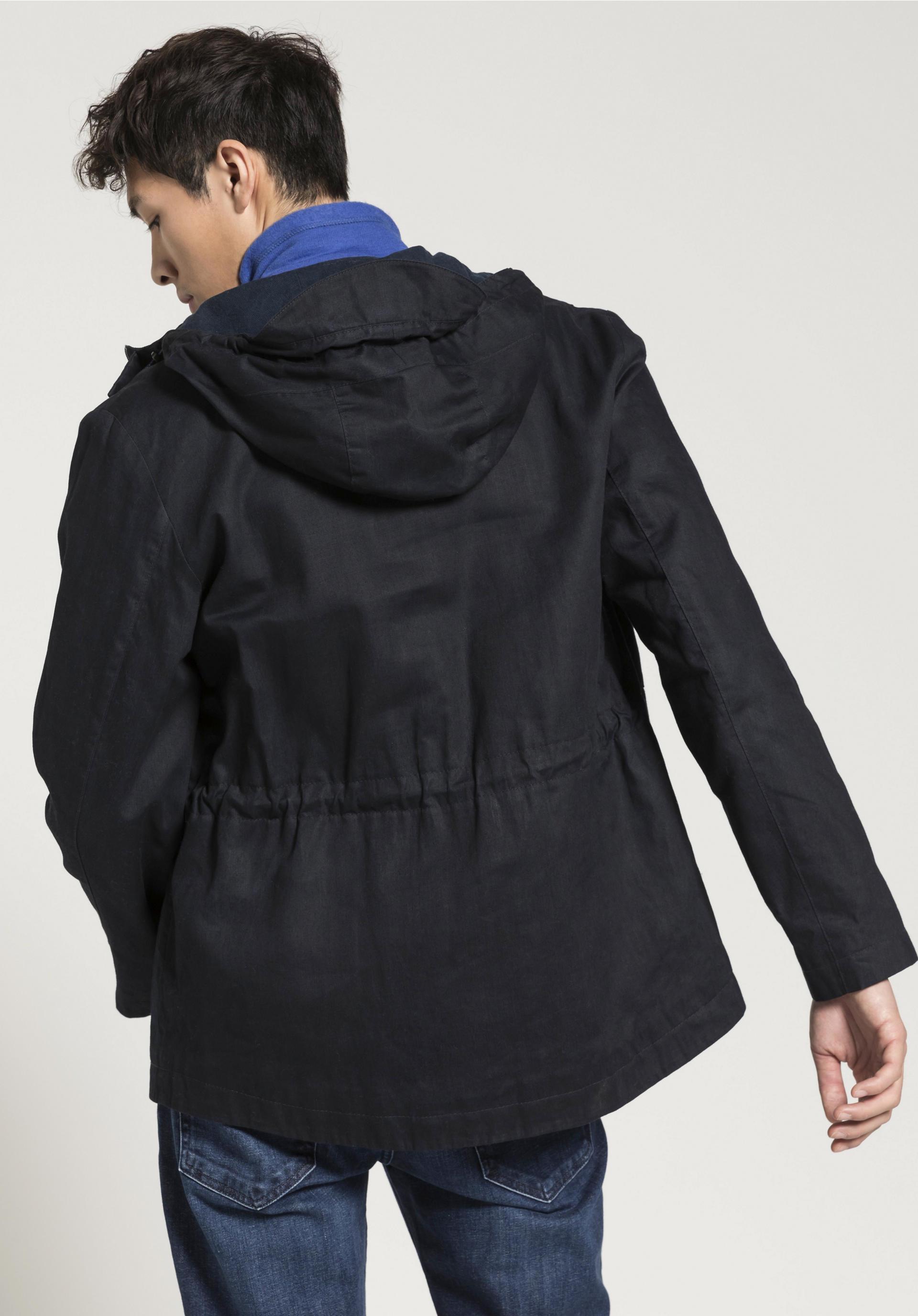 Wachsjacke für Ihn aus reiner Bio Baumwolle von hessnatur