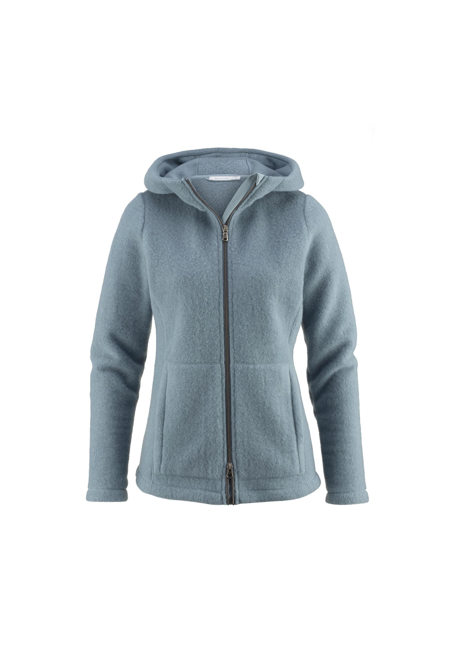 c05fac2c4216 Wollfleece-Jacke für Sie aus reiner Bio-Schurwolle - hessnatur ...