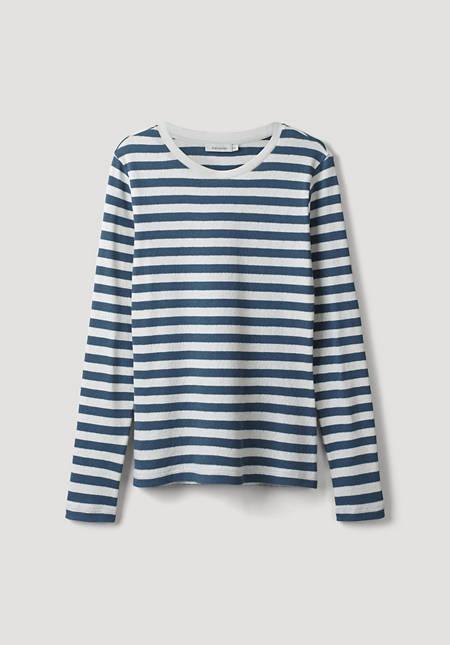 Ajour-Shirt aus Bio-Baumwolle
