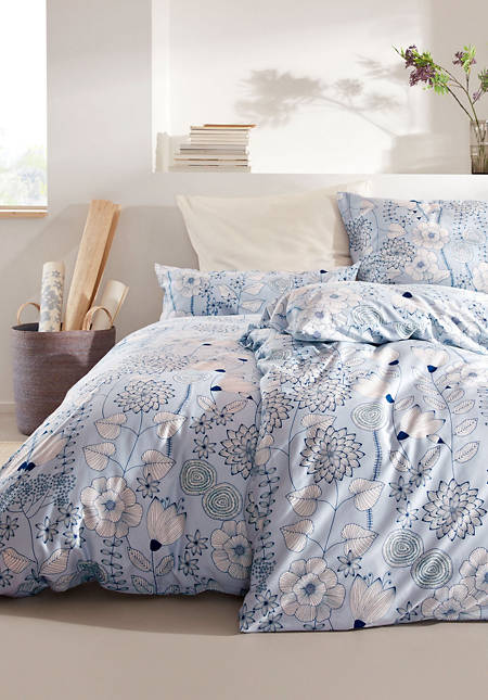 Akina satin bed linen made from pure organic cotton