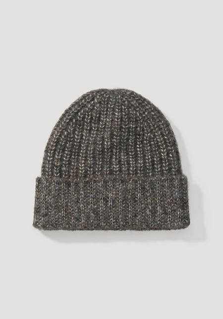 Alpaca and pima cotton hat