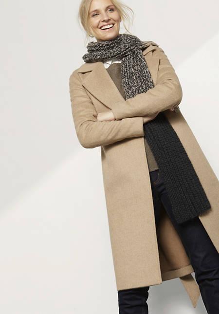 Alpaka-Schal zum Selbststricken