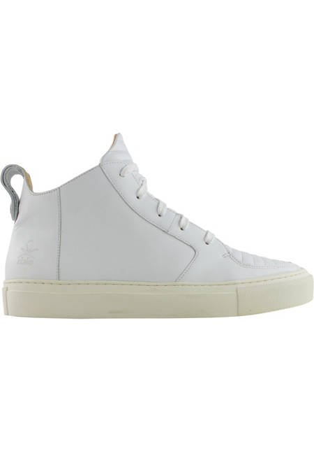 Argan Mid / White Leather