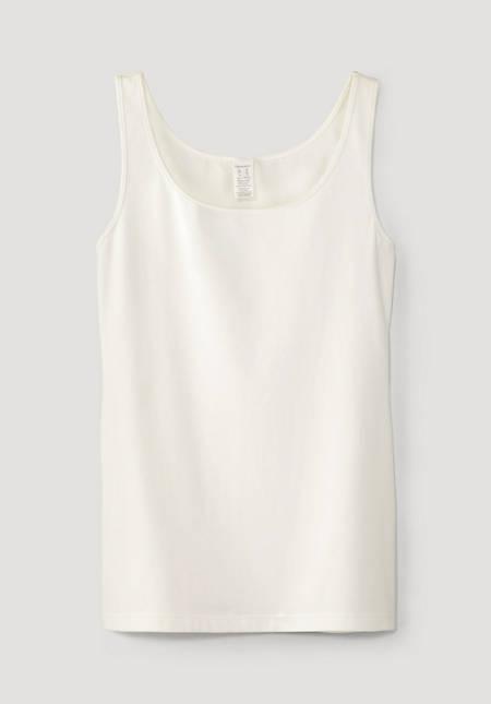 Armpit shirt PureLUX made of organic cotton