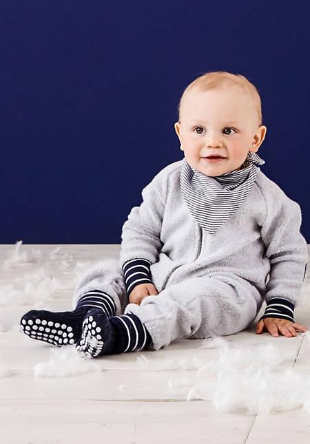 Baby Stoppersocke aus reiner Bio-Merinowolle